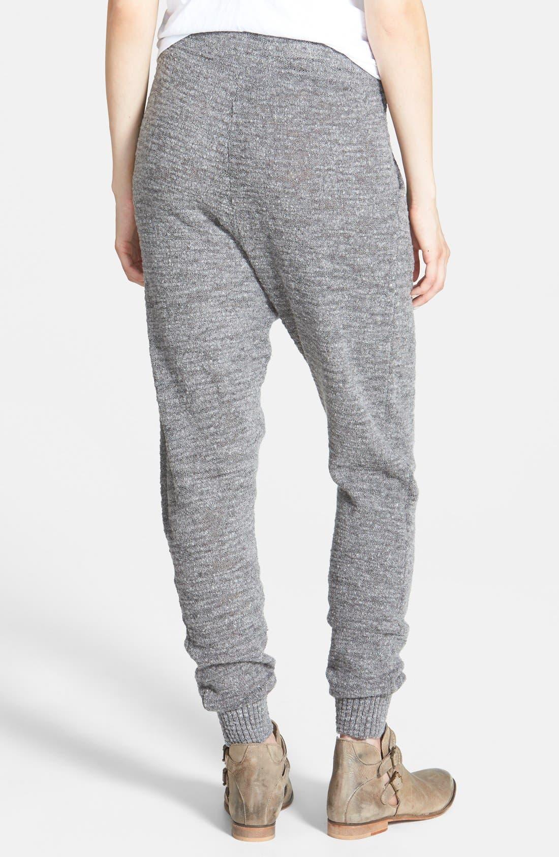 Alternate Image 2  - Free People Sweater Knit Harem Pants