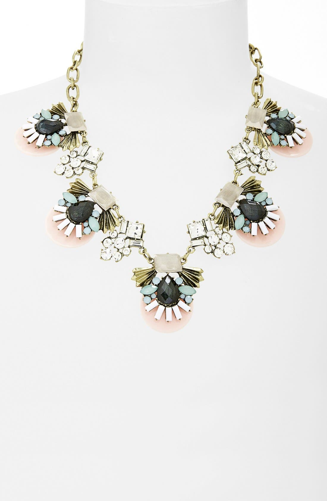 Alternate Image 2  - Sole Society 'Deco' Statement Necklace