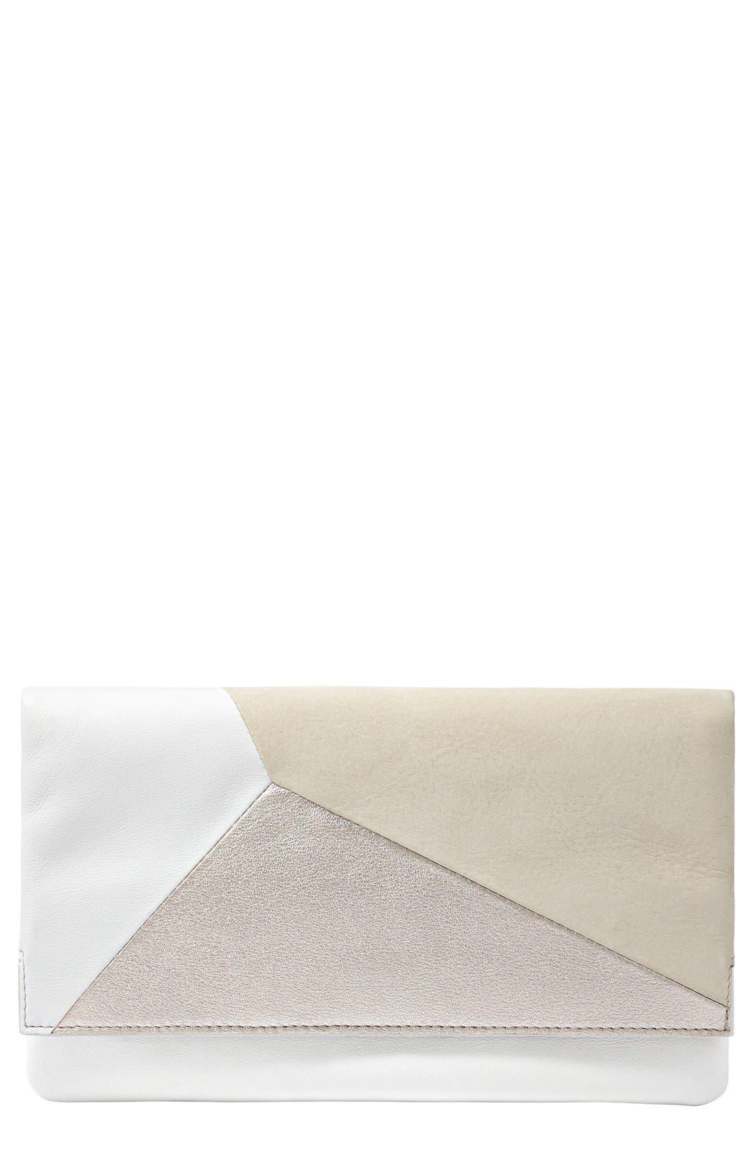 Alternate Image 1 Selected - Skagen Flap Clutch Wallet