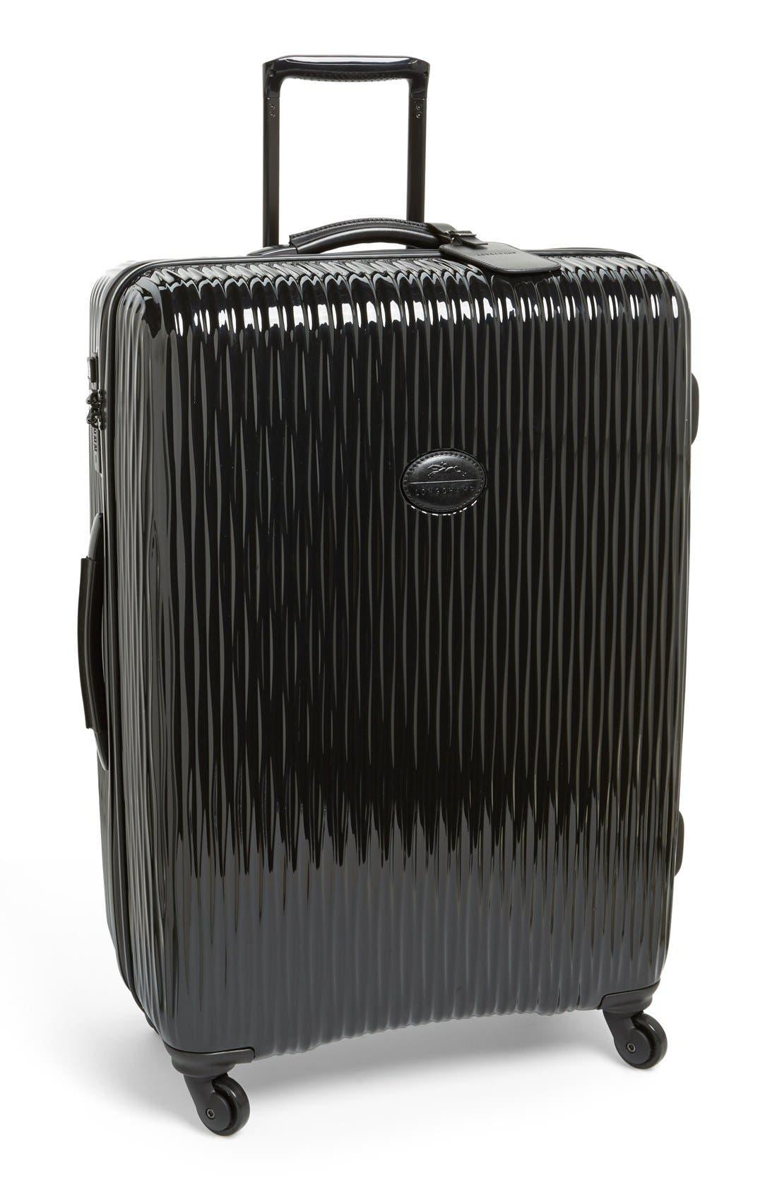 LONGCHAMP Large Fairval Four-Wheel Hard Shell Suitcase
