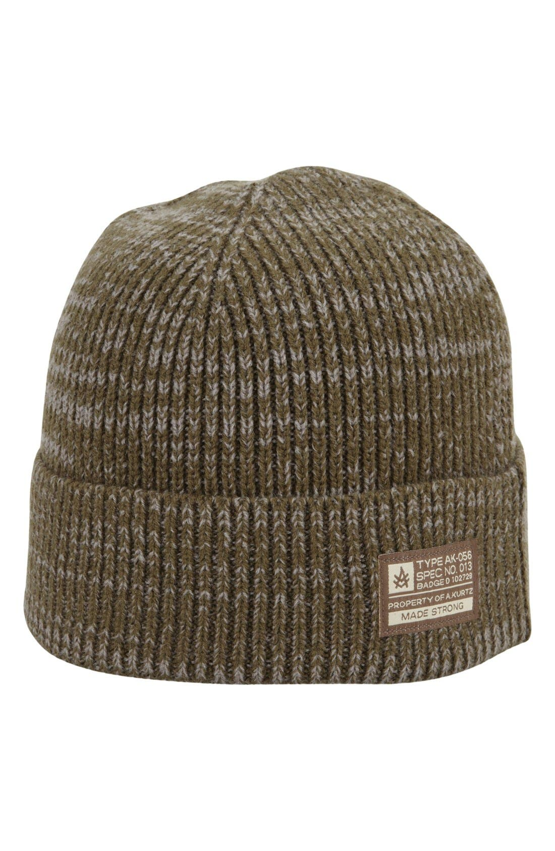'Bounty' Knit Cap,                         Main,                         color, Military