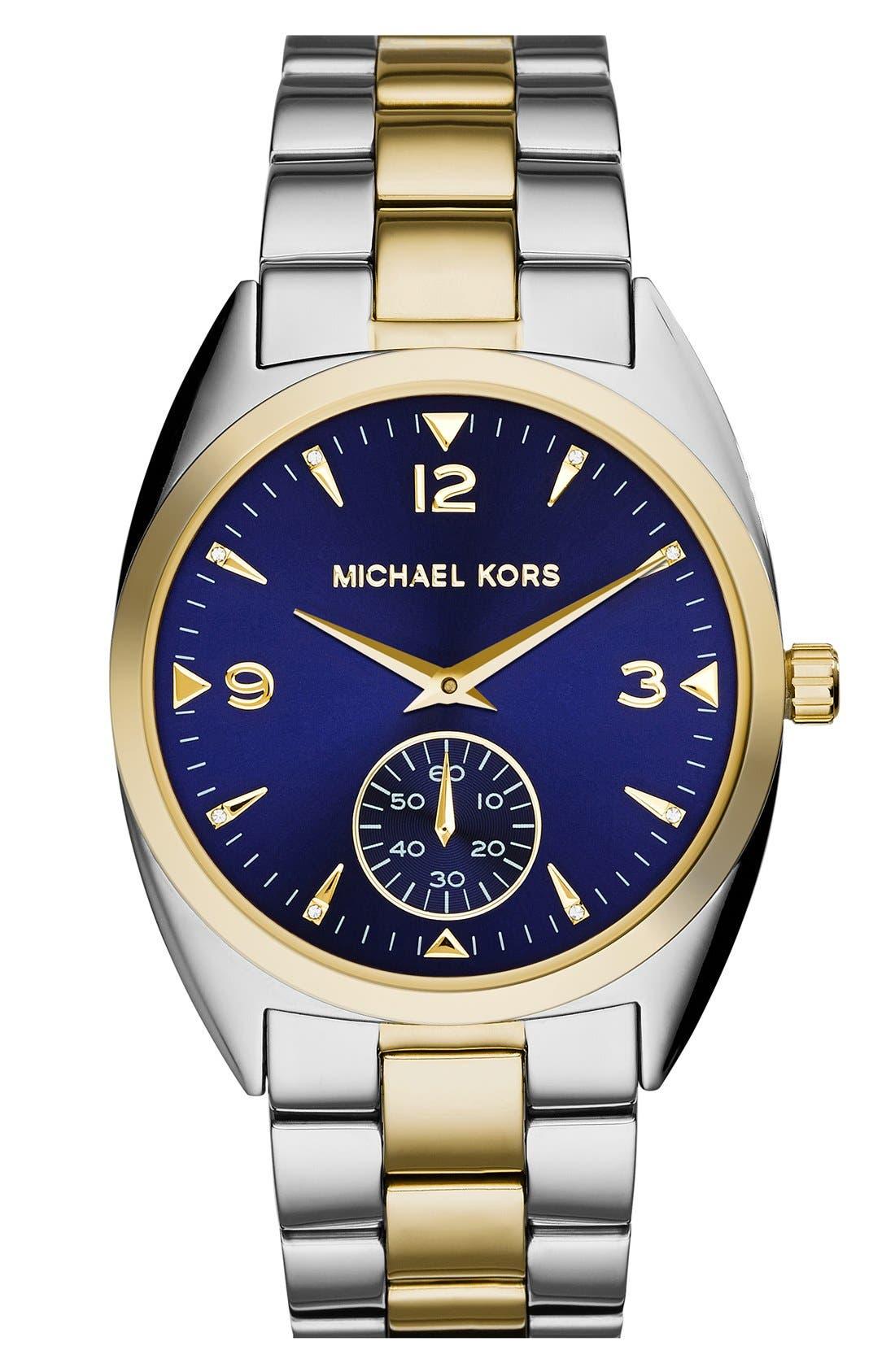 Main Image - Michael Kors 'Callie' Multifunction Bracelet Watch, 39mm