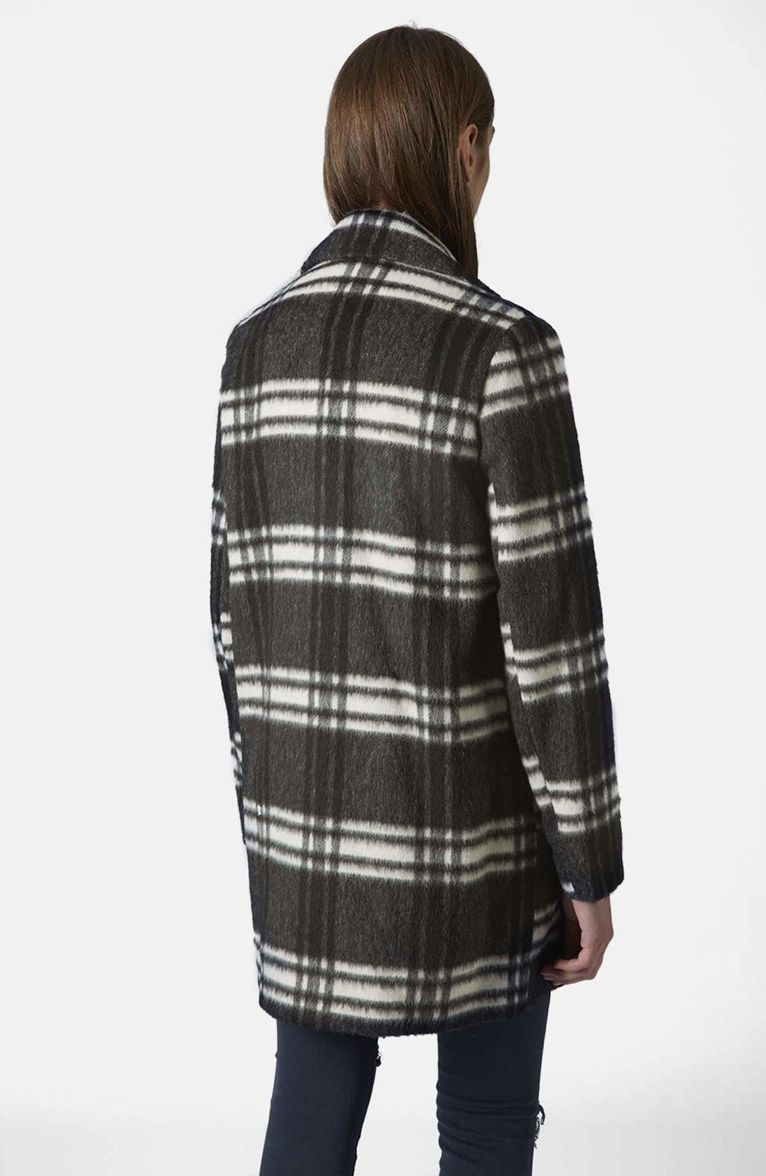 Alternate Image 2  - Topshop Double Breasted Pea Coat