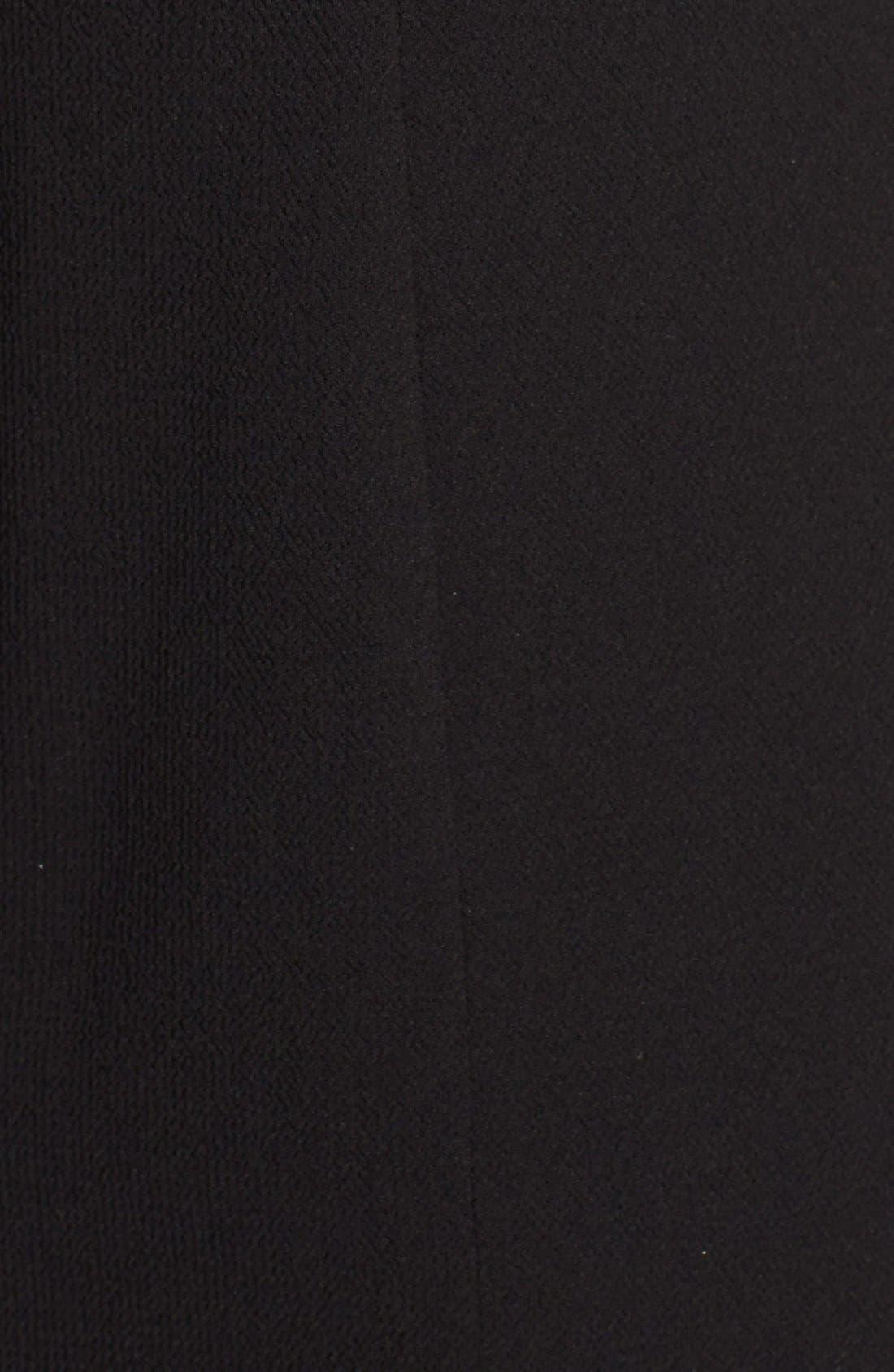 Alternate Image 3  - Adrianna Papell Faux Leather Trim Cutout Sheath Dress