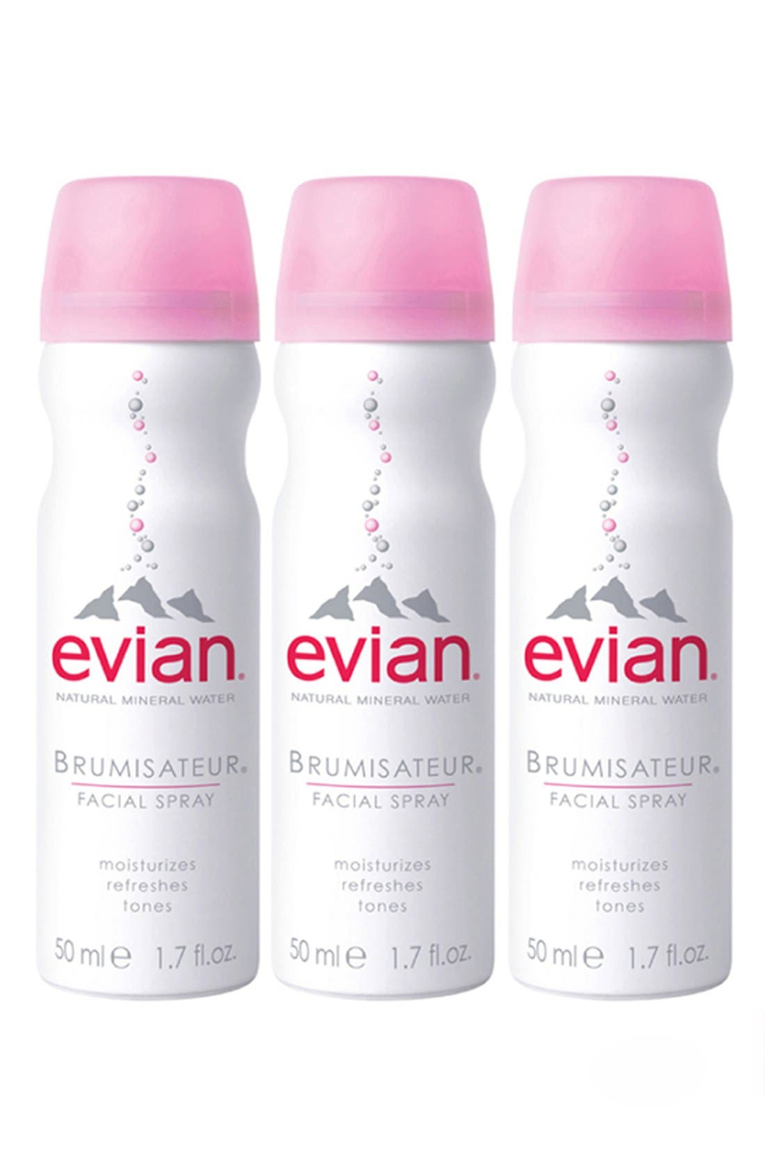 Evian® Facial Water Spray Trio