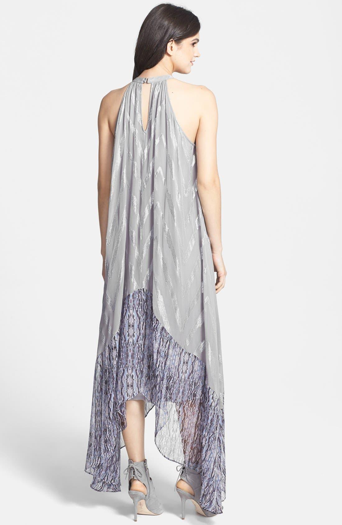 Alternate Image 2  - Ella Moss 'Renaissance' Maxi Dress