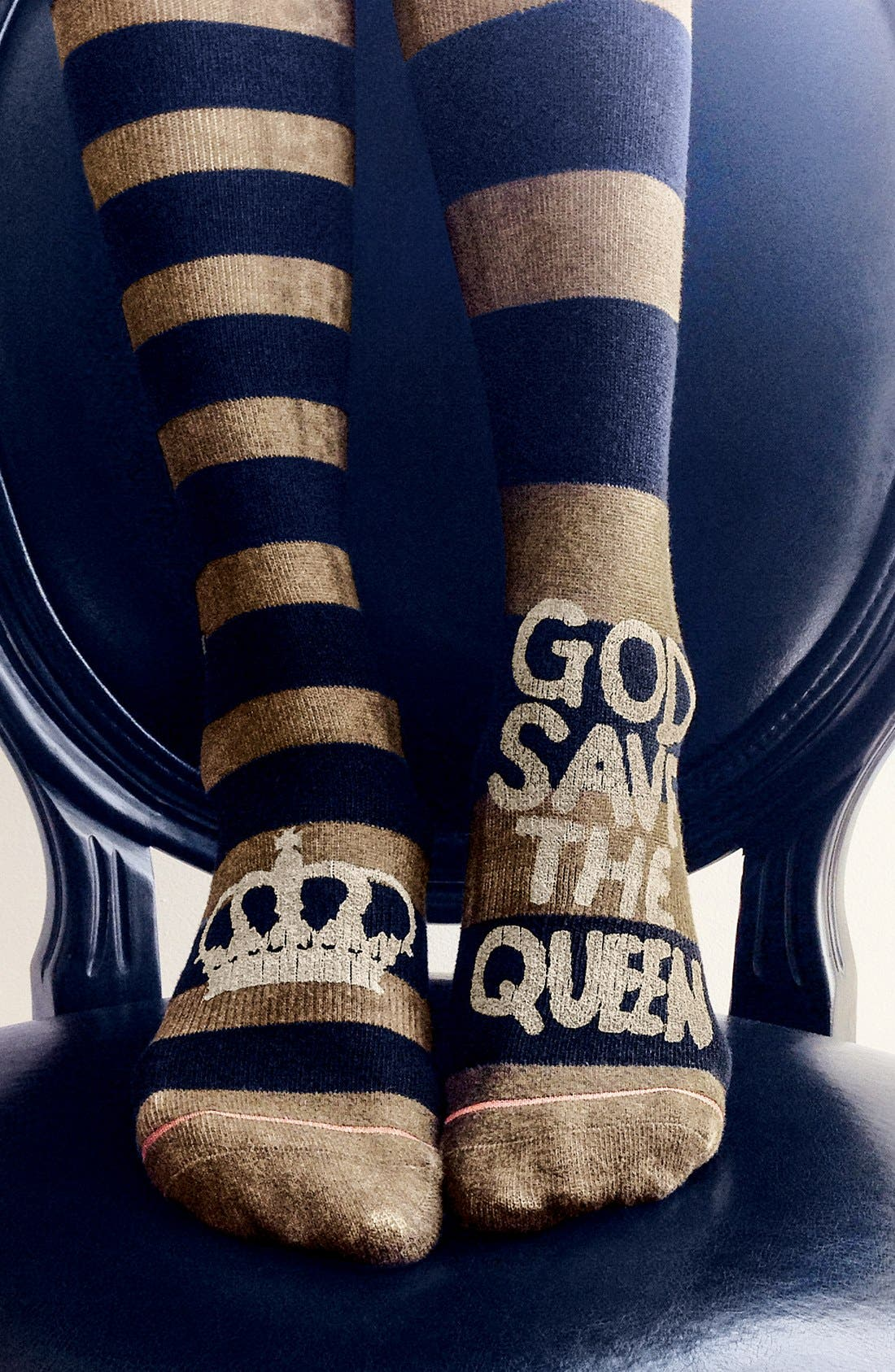 Alternate Image 4  - Stance 'Save the Queen' Boot Socks