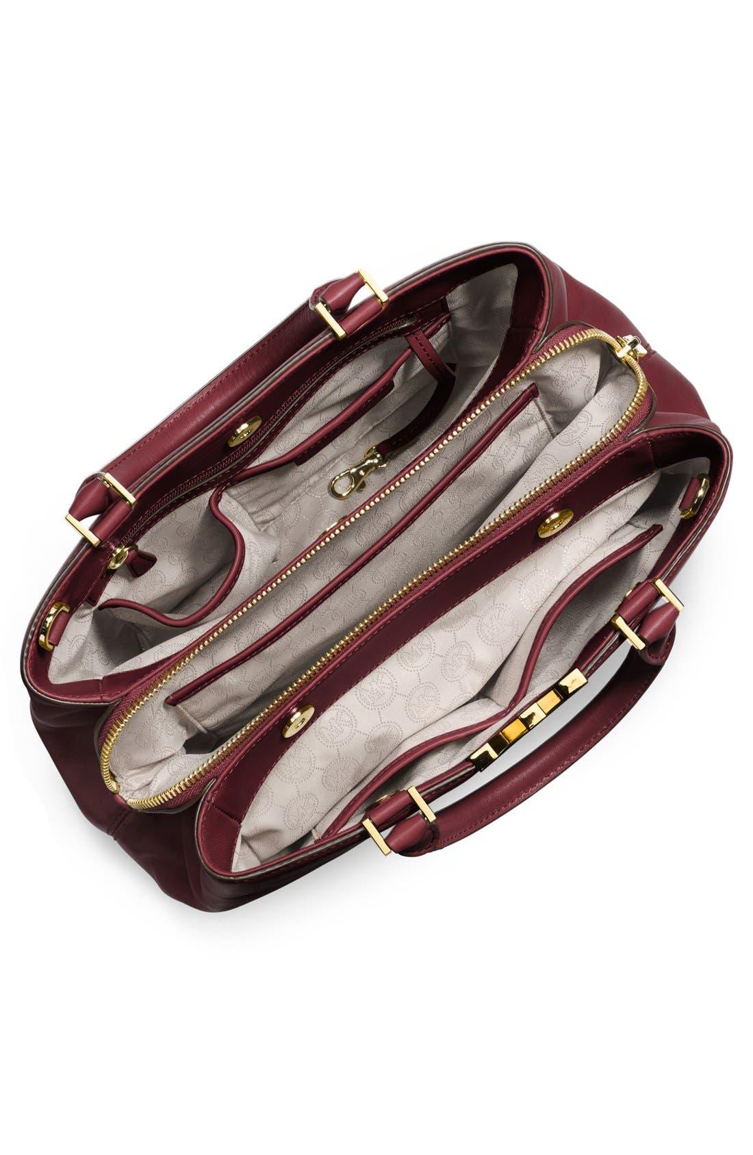 Alternate Image 2  - MICHAEL Michael Kors 'Large Florence' Leather Satchel