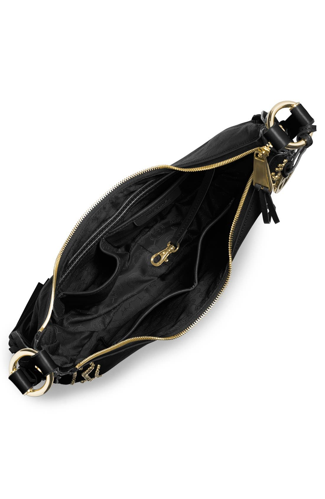 Alternate Image 2  - MICHAEL Michael Kors 'Rhea' Studded Leather Shoulder Bag