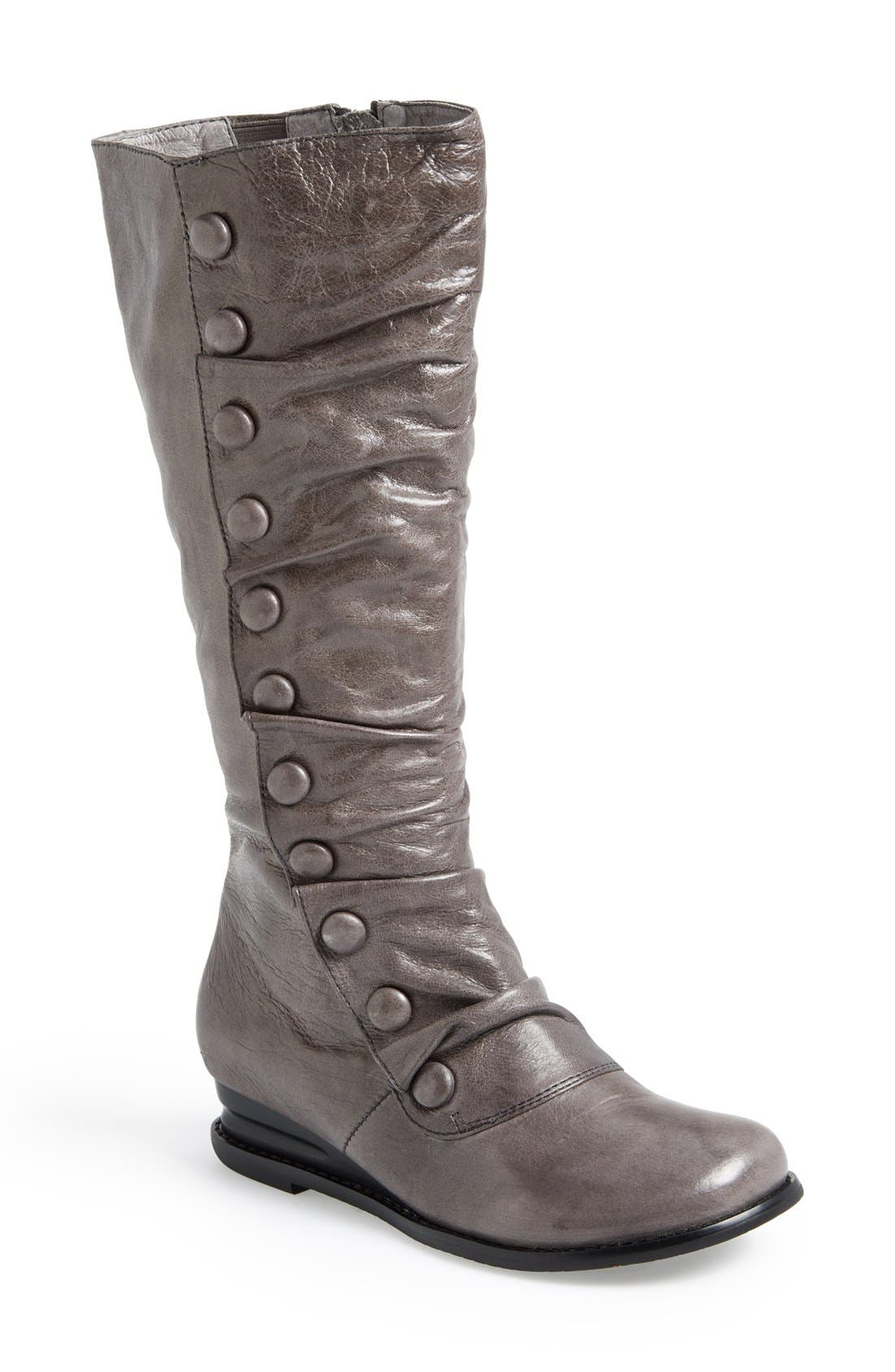 Main Image - Miz Mooz 'Bloom' Leather Boot (Women)(Wide Calf)