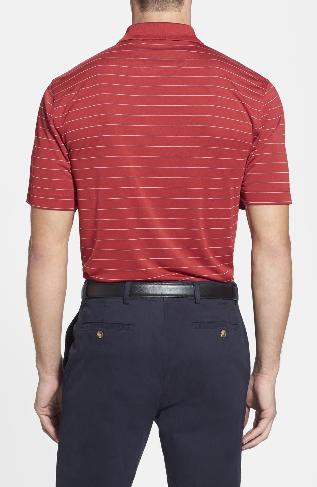 Alternate Image 2  - Cutter & Buck Franklin Stripe DryTec® Polo