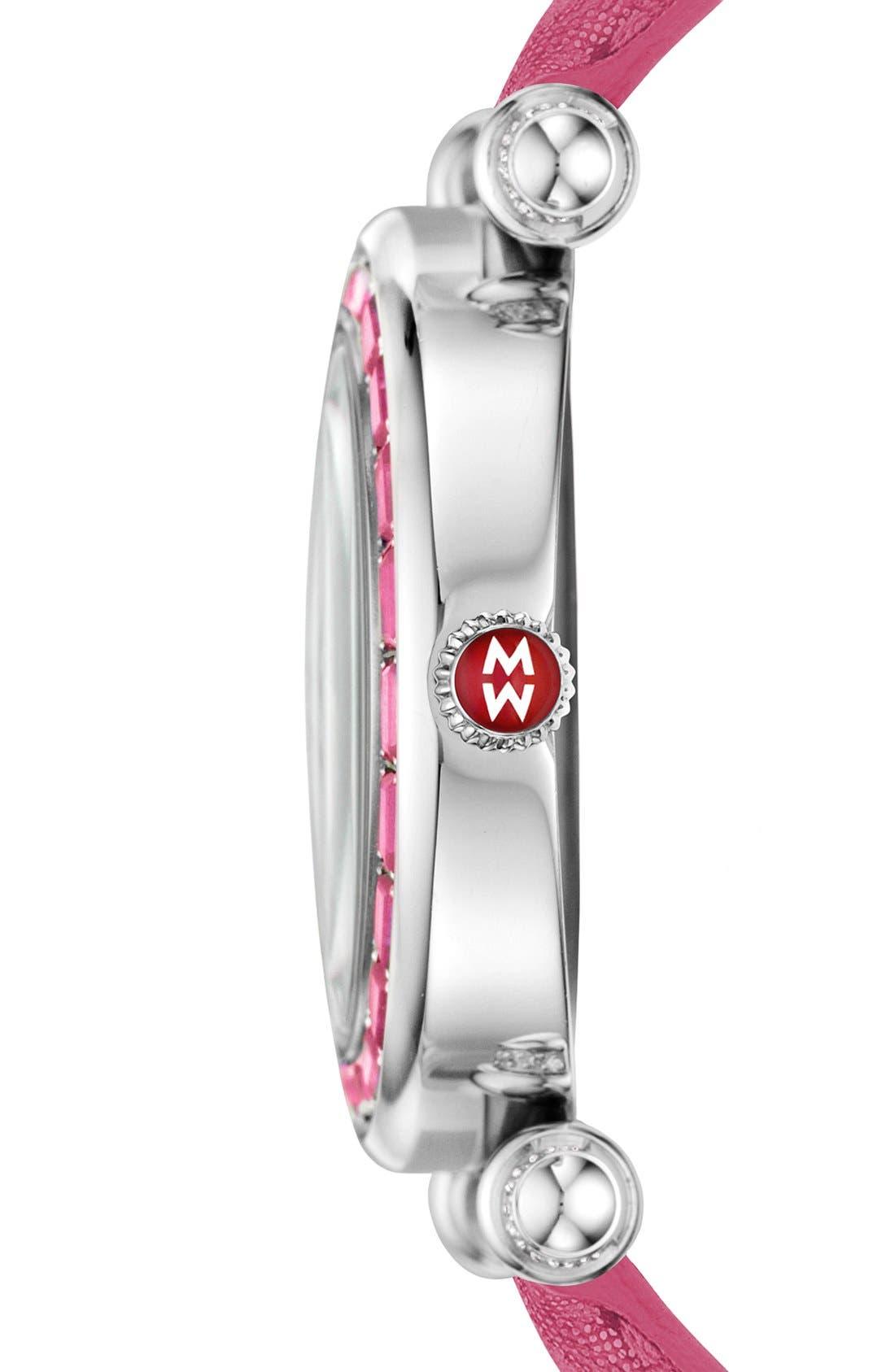 Alternate Image 3  - MICHELE 'Caber' Diamond Watch Case, 37mm