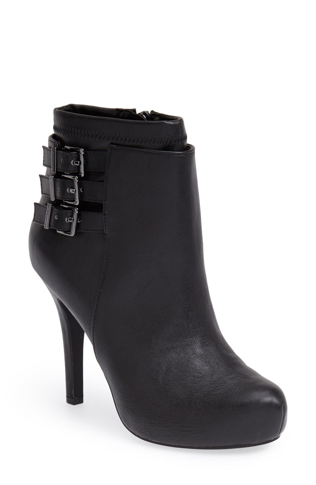 Alternate Image 1 Selected - BCBGeneration 'Fame' Pointy Toe Platform Bootie (Women)