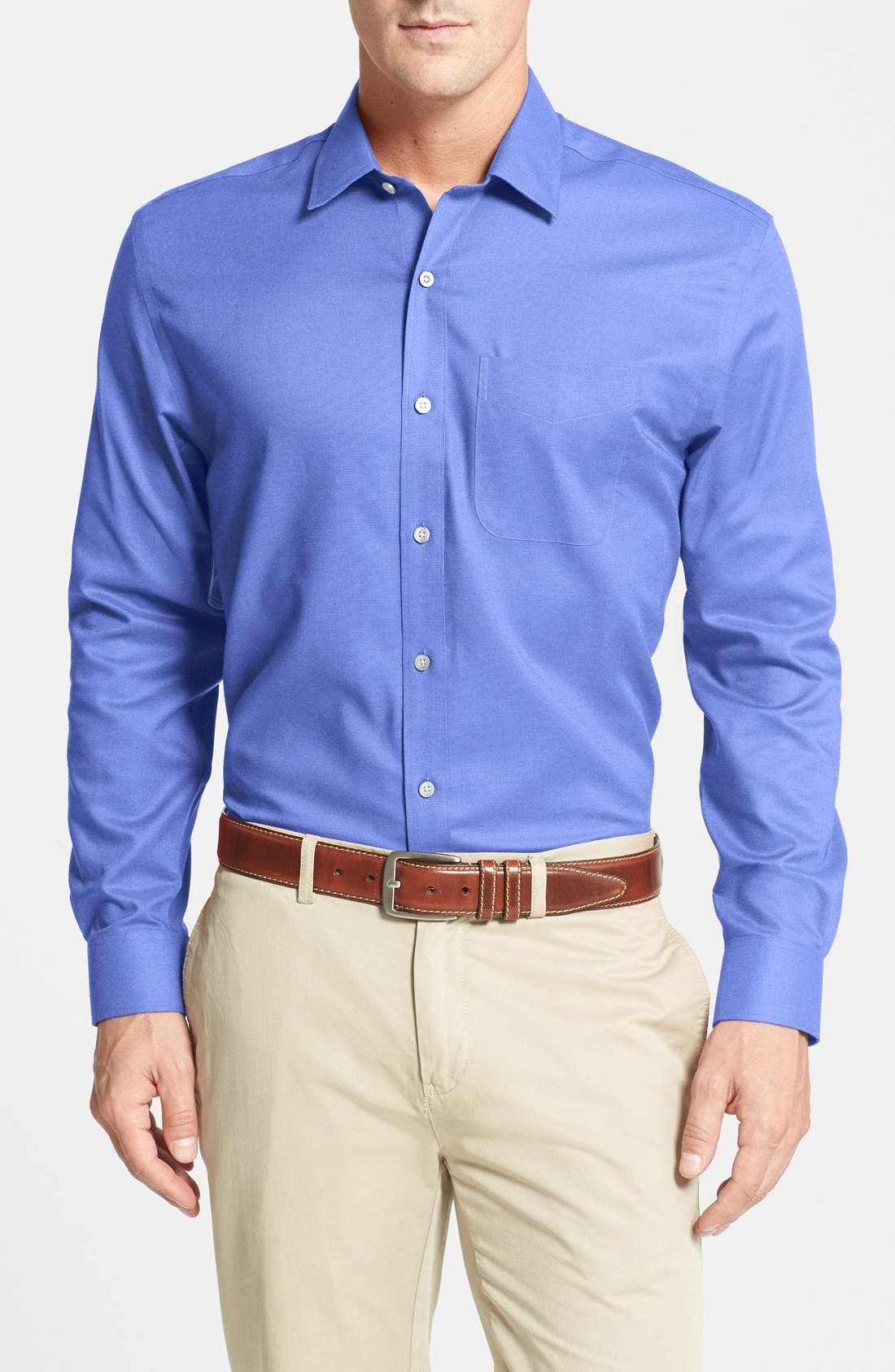 Alternate Image 1 Selected - Cutter & Buck Epic Easy Care Classic Fit Wrinkle Free Sport Shirt