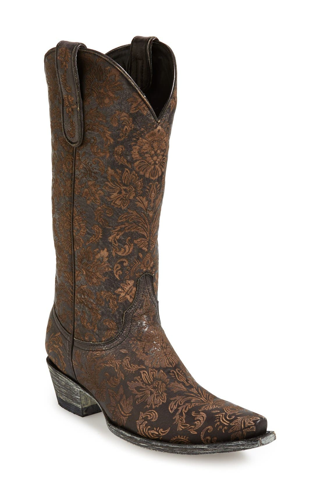 Alternate Image 1 Selected - Old Gringo 'Nadia' Leather Western Boot (Women)
