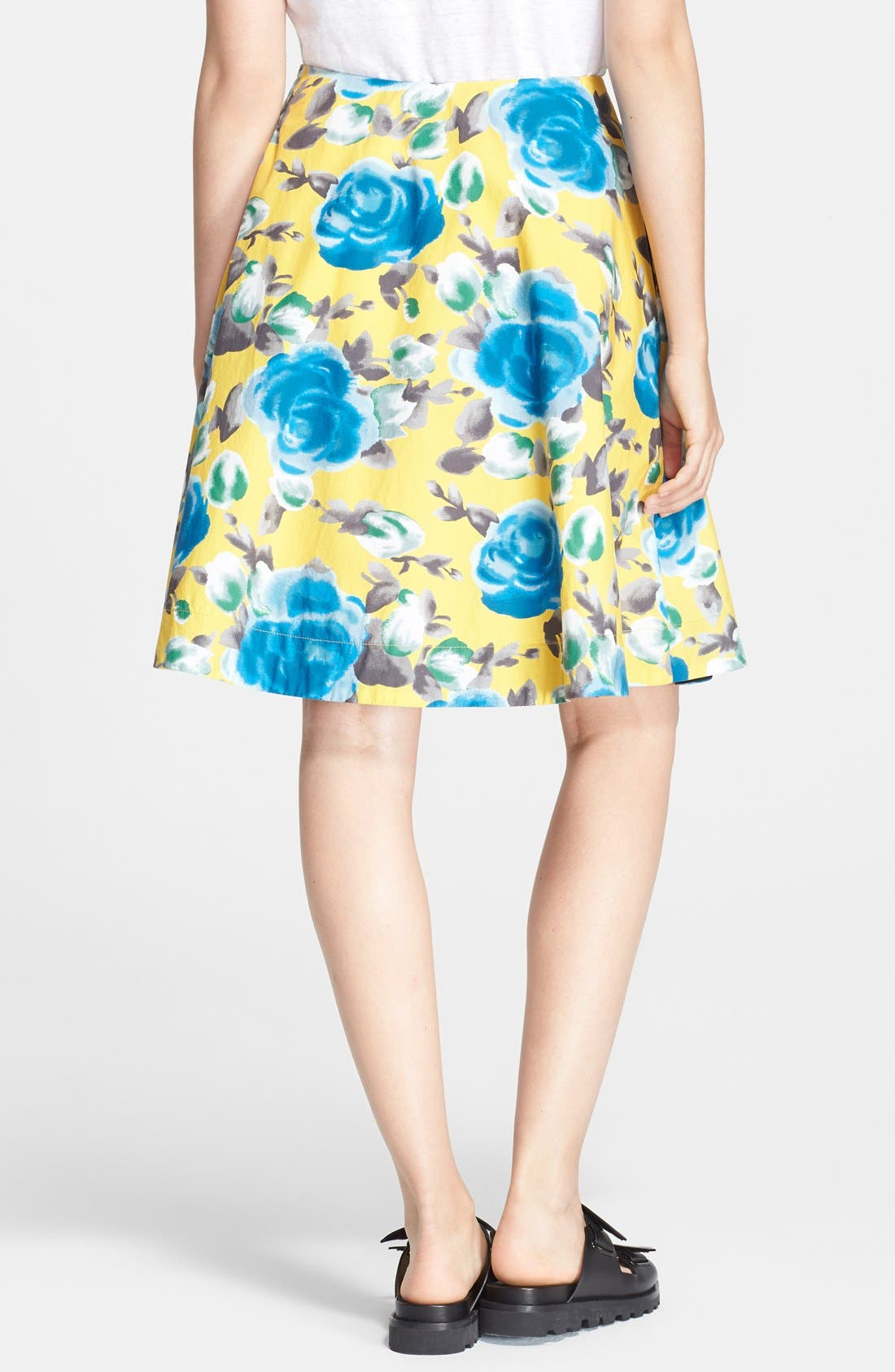 Alternate Image 2  - MARC BY MARC JACOBS Floral Print Circle Skirt