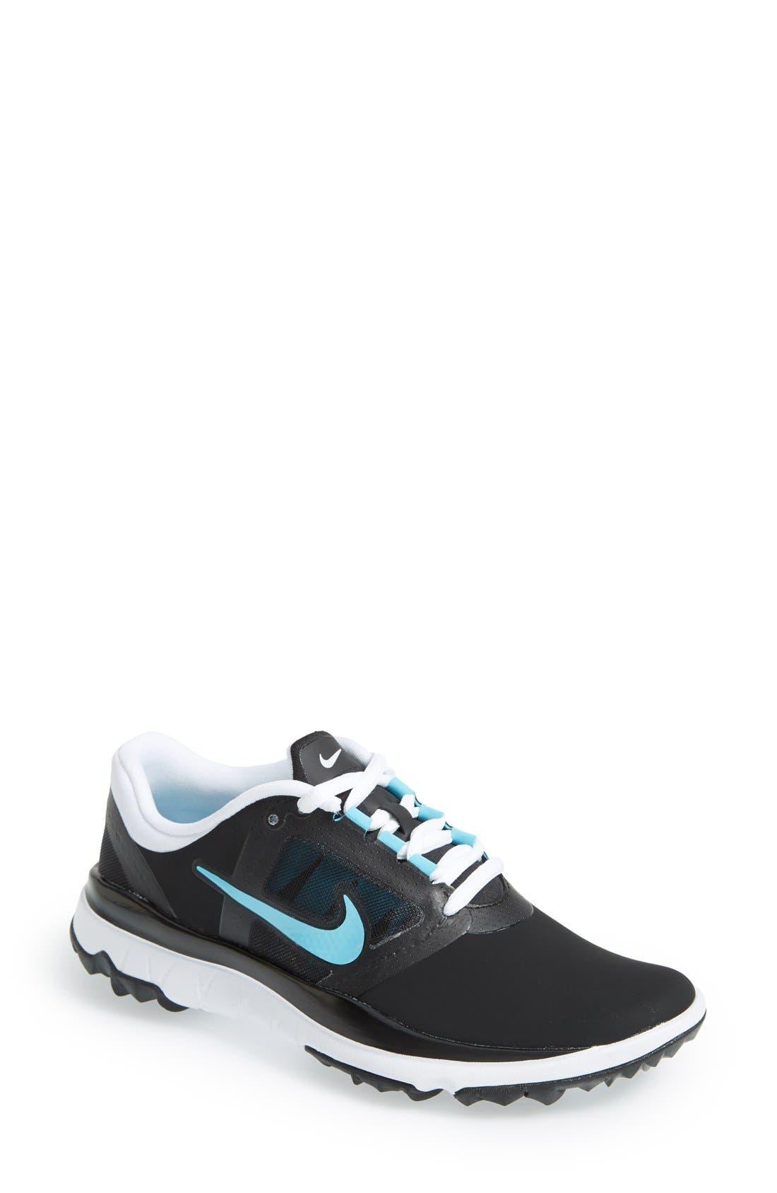 Alternate Image 1 Selected - Nike 'Fi Impact' Waterproof Golf Shoe (Women)