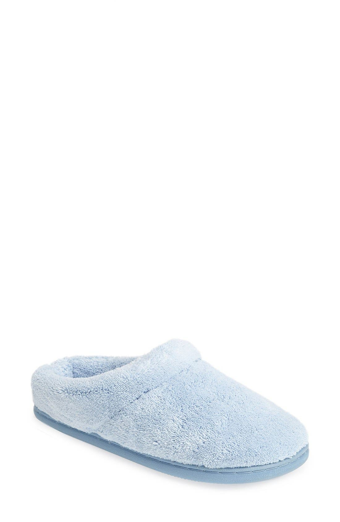 'Windsock' Slipper,                             Main thumbnail 1, color,                             Light Blue