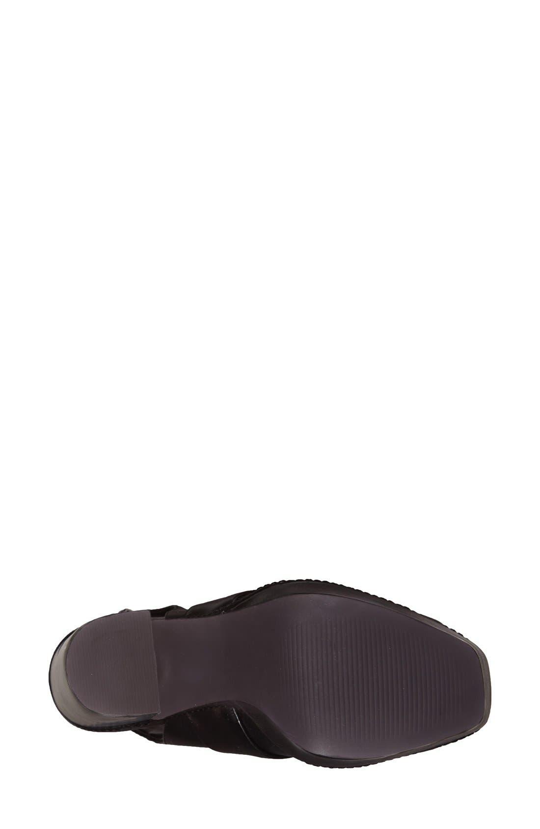 Alternate Image 4  - Topshop 'Sassy' Platform Sandal
