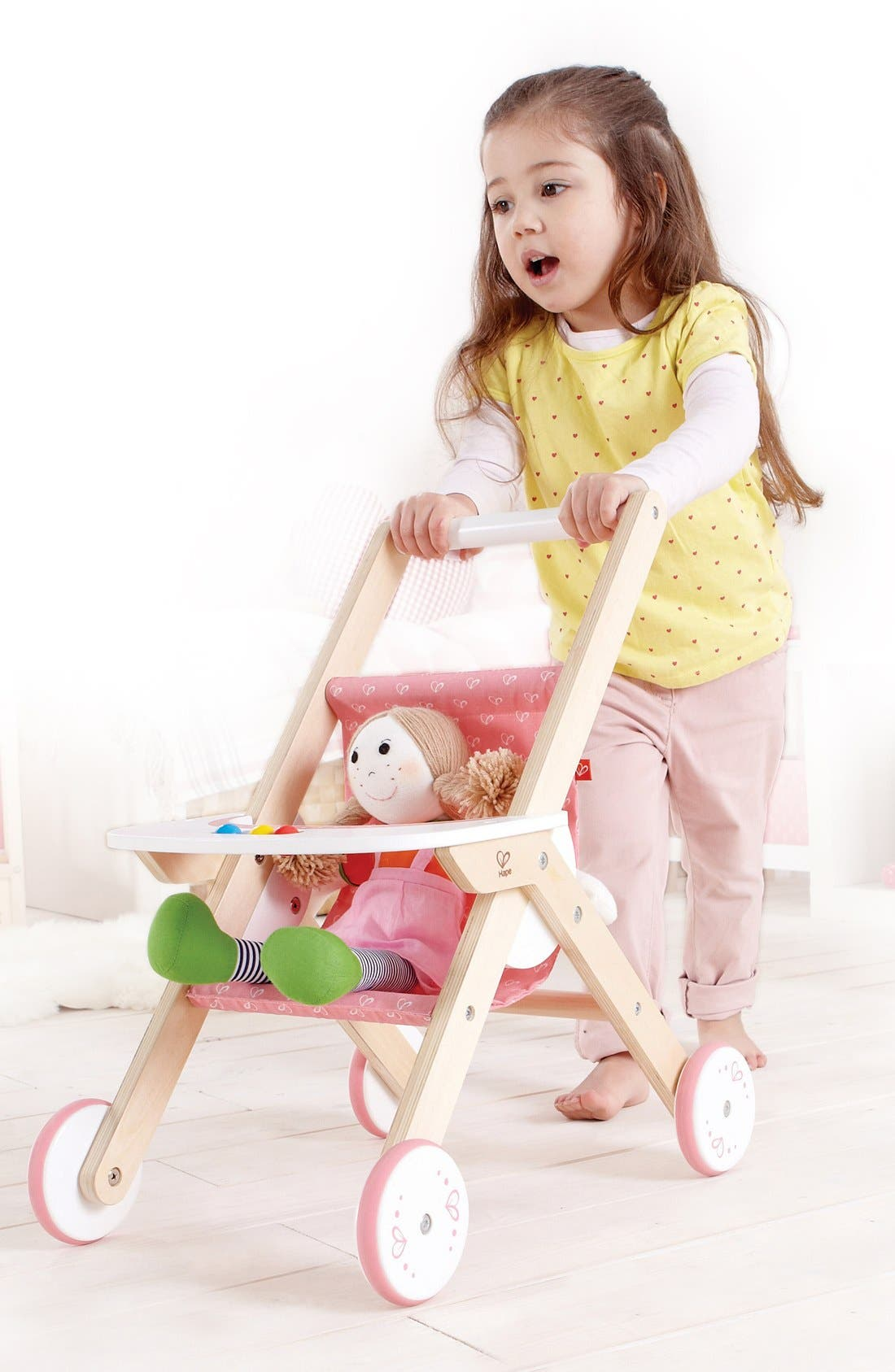 Play Stroller,                             Alternate thumbnail 3, color,                             Pink