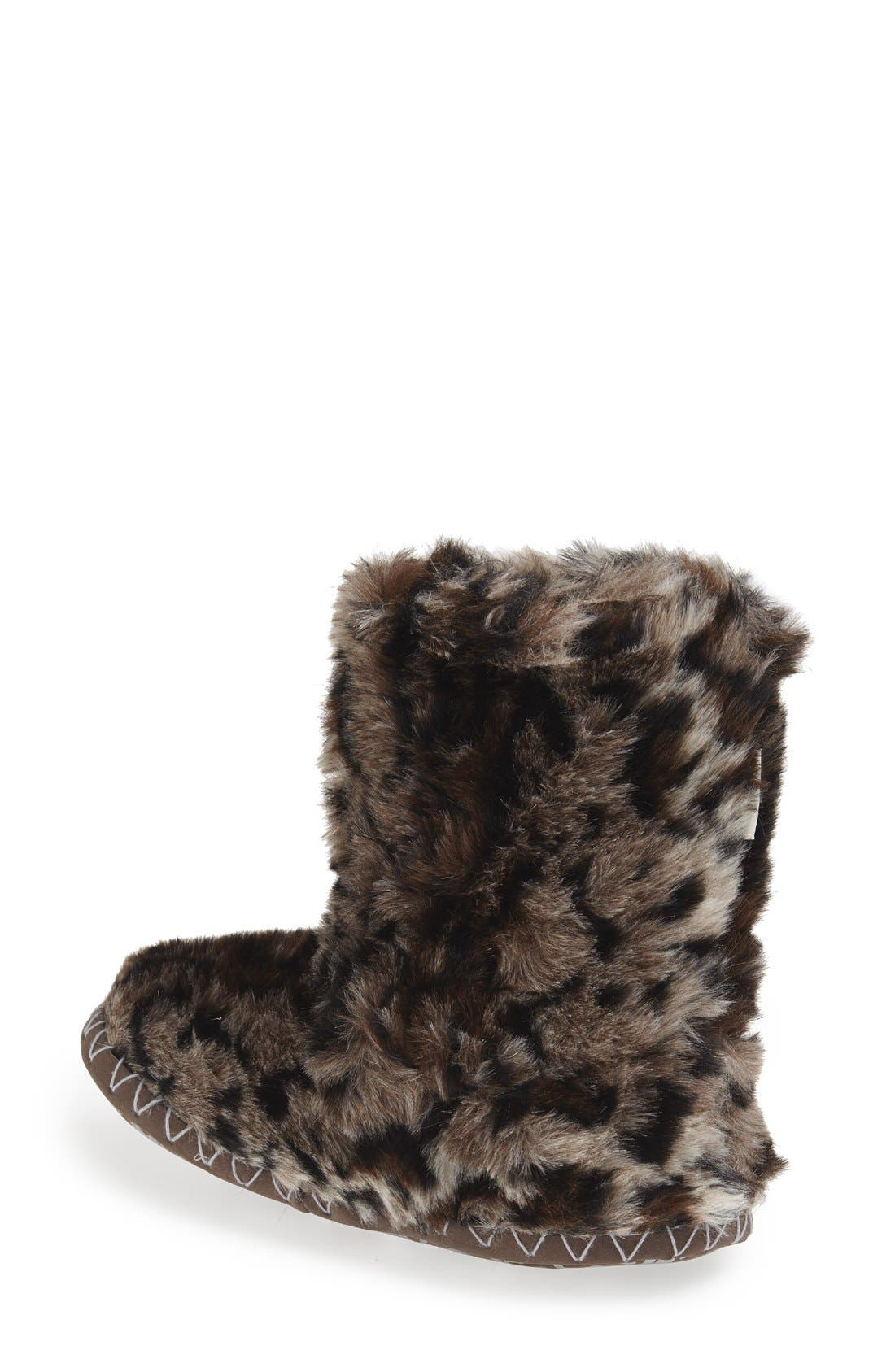Alternate Image 2  - Bedroom Athletics 'Cole' Faux Fur Slipper Boot (Women)