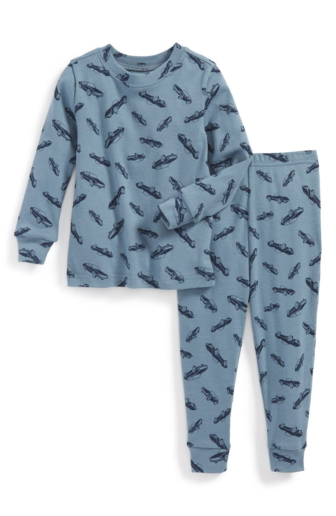 Main Image - Tucker + Tate Two-Piece Fitted Pajamas (Baby Boys)