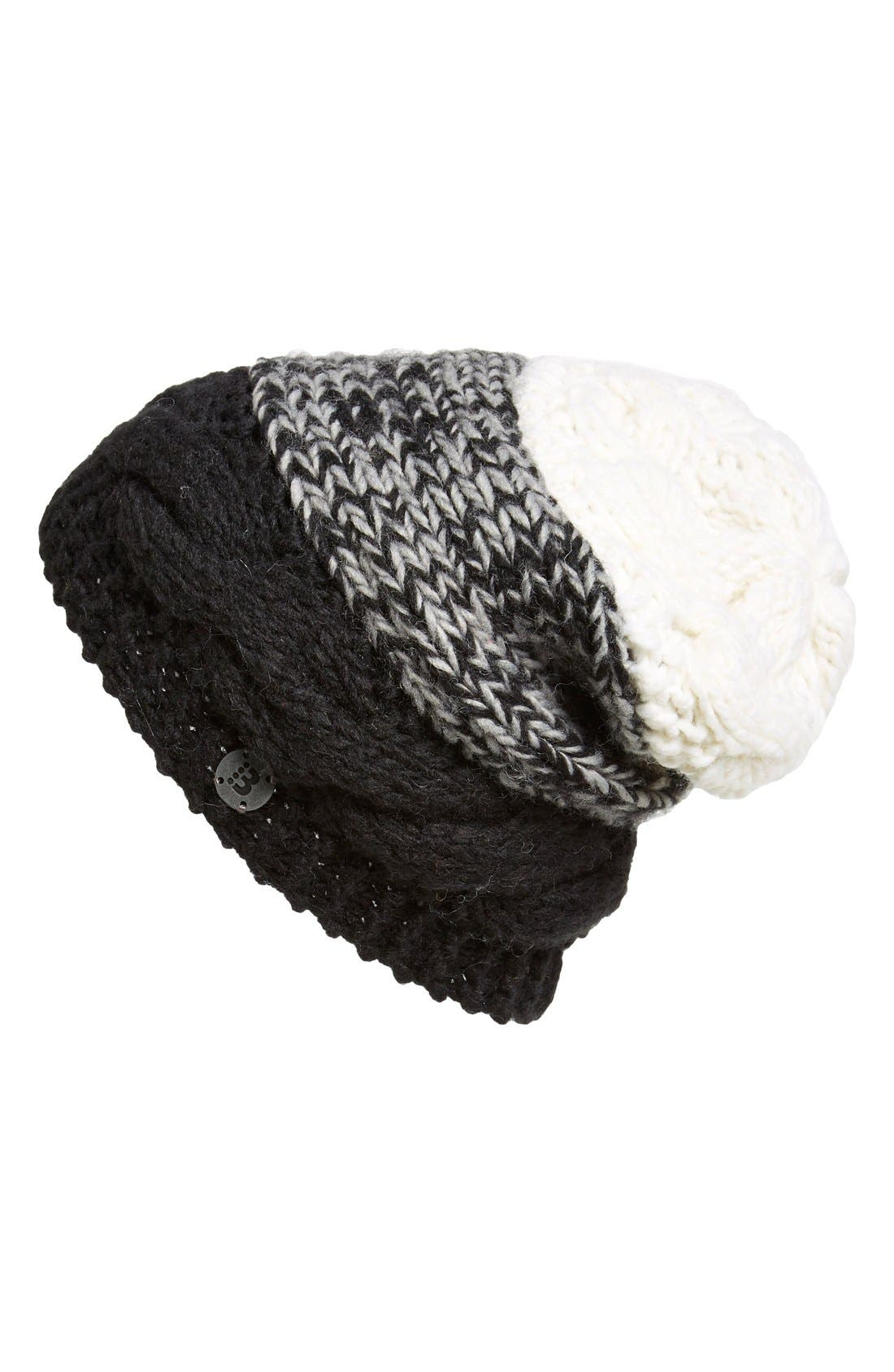 Main Image - Bench 'Stayce' Colorblock Knit Beanie
