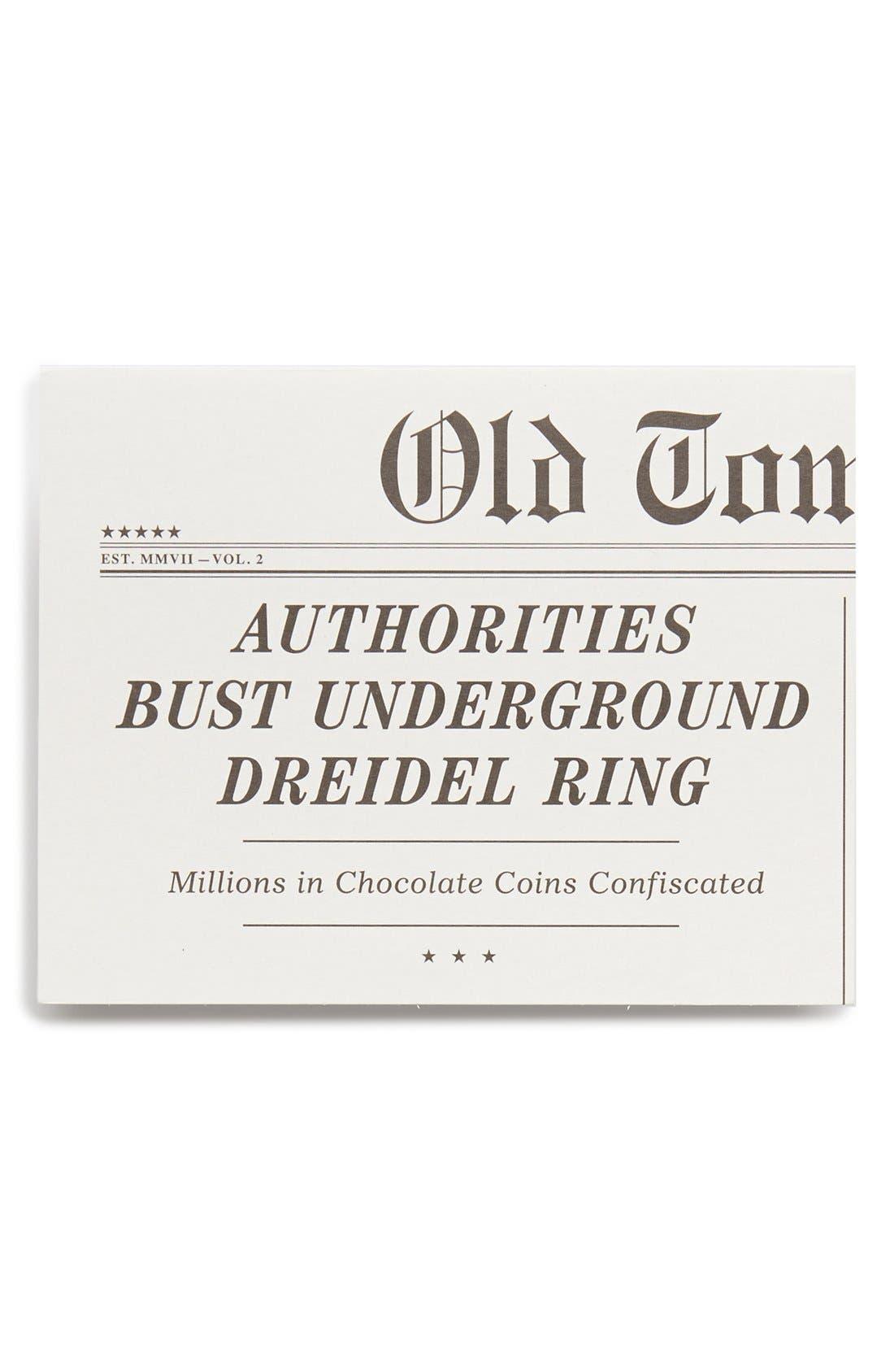 Alternate Image 1 Selected - Old Tom Foolery 'Dreidel Ring' Card