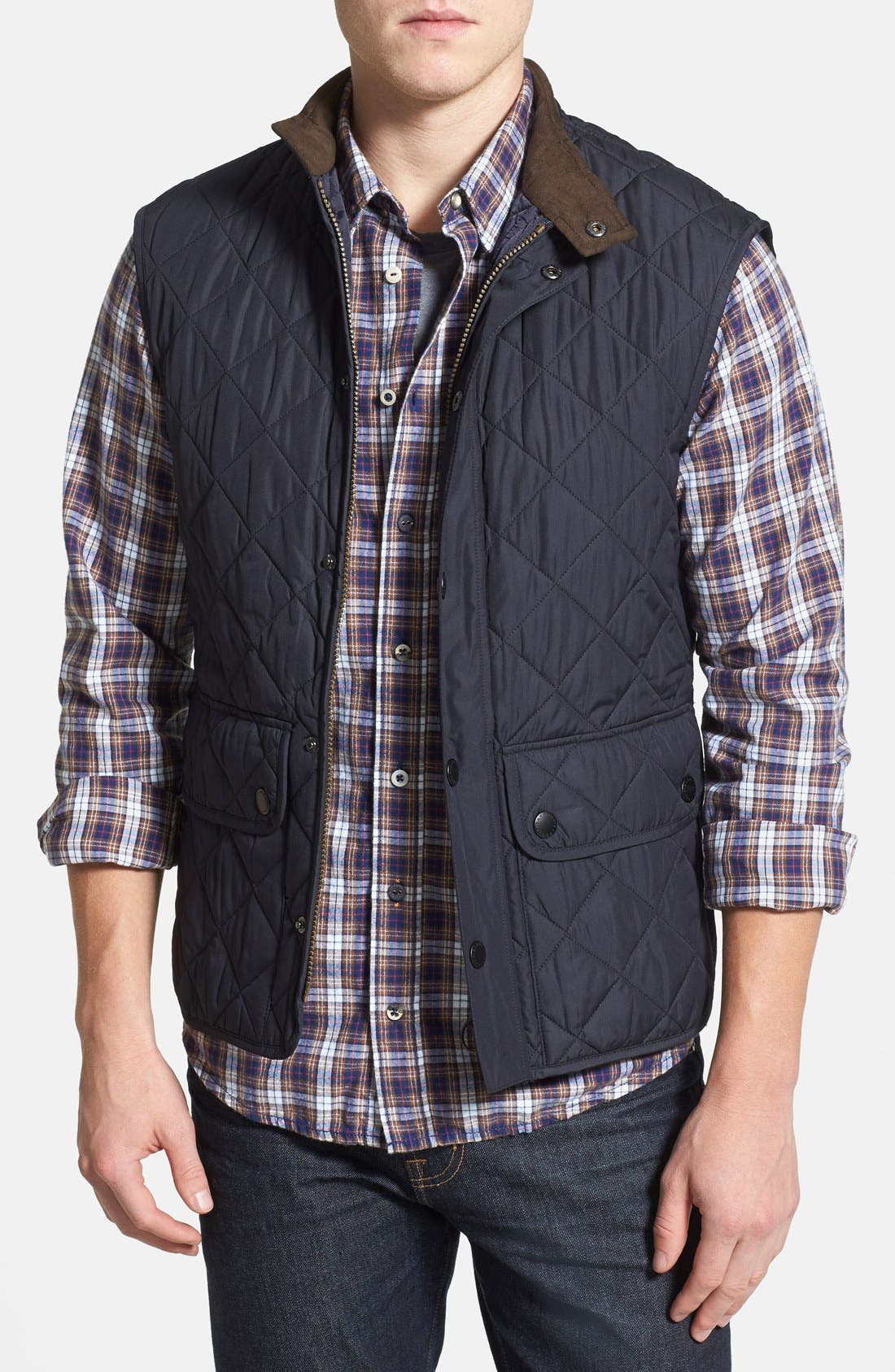 Barbour 'Lowerdale' Trim Fit Quilted Vest