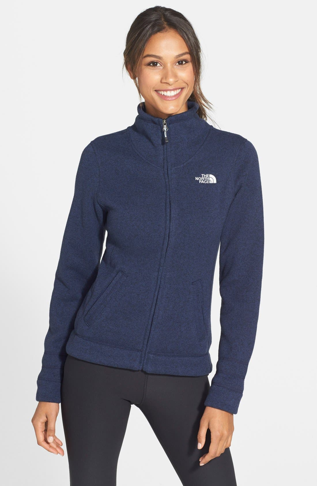 Alternate Image 1 Selected - The North Face 'Crescent Sunset' Full Zip Jacket