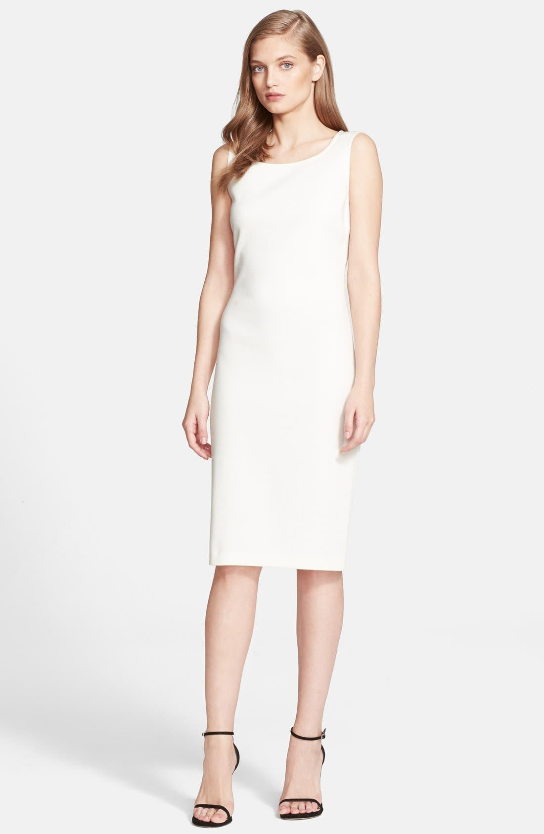 Main Image - St. John Collection Milano Knit Sheath Dress