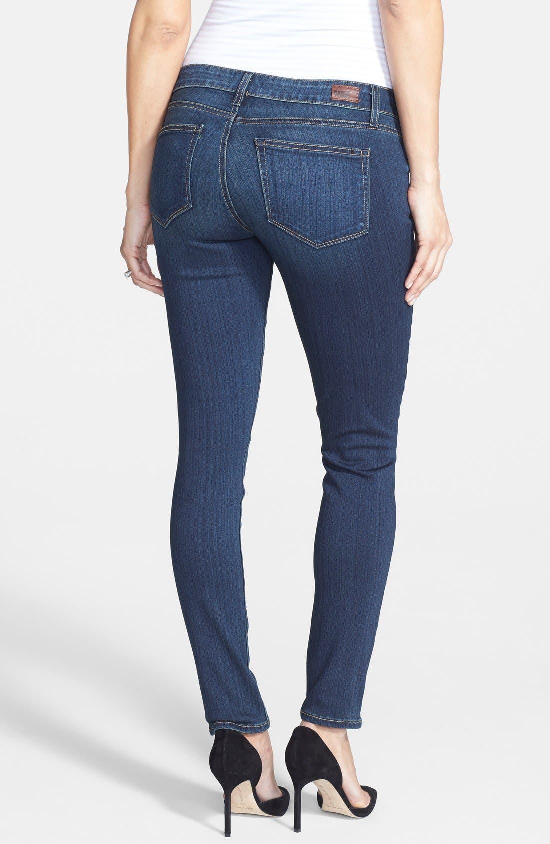 Alternate Image 2  - Paige Denim 'Transcend - Verdugo' Maternity Jeans (Nottingham)