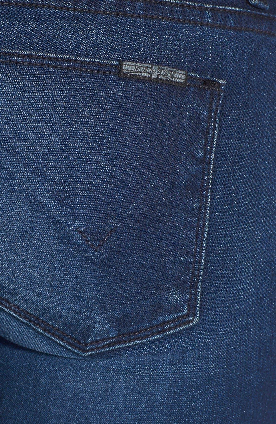 Alternate Image 3  - Hudson Jeans 'Krista' Super Skinny Crop Jeans (Contrary)