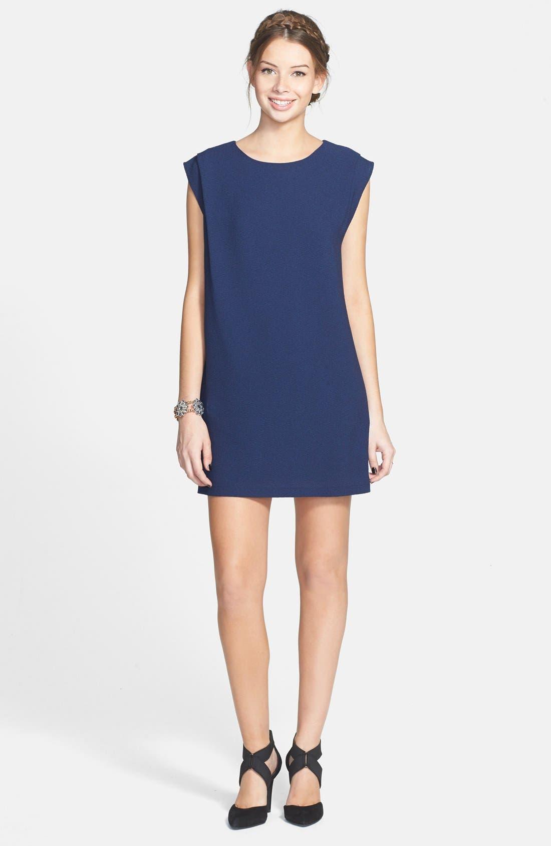 Alternate Image 1 Selected - Everly Shift Dress (Juniors)