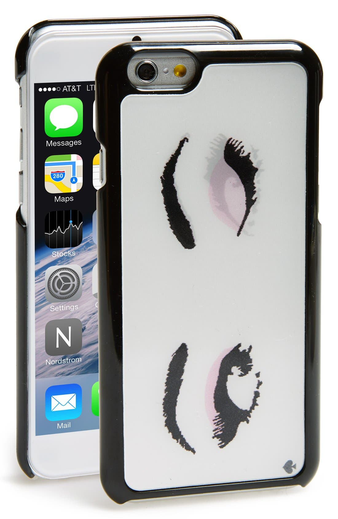Alternate Image 1 Selected - kate spade new york 'lenticular eyes' iPhone 6 & 6s case