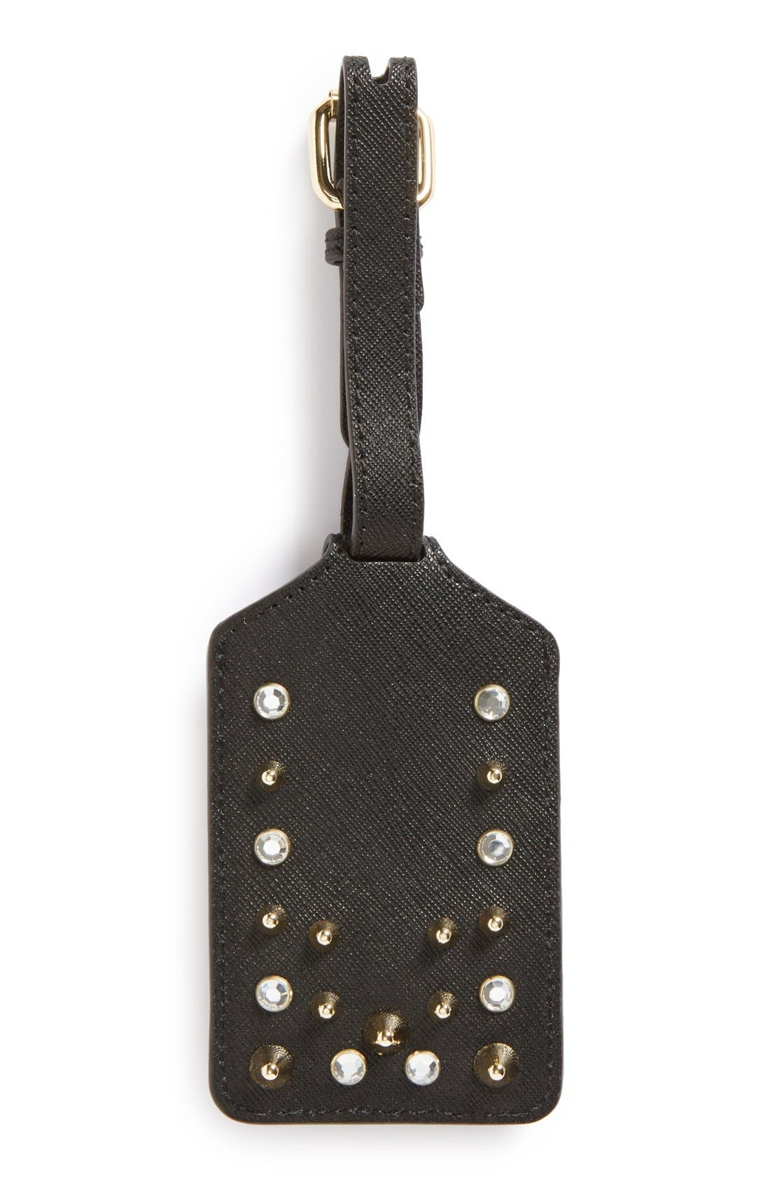 Alternate Image 2  - Rebecca Minkoff Luggage Tag with Studs