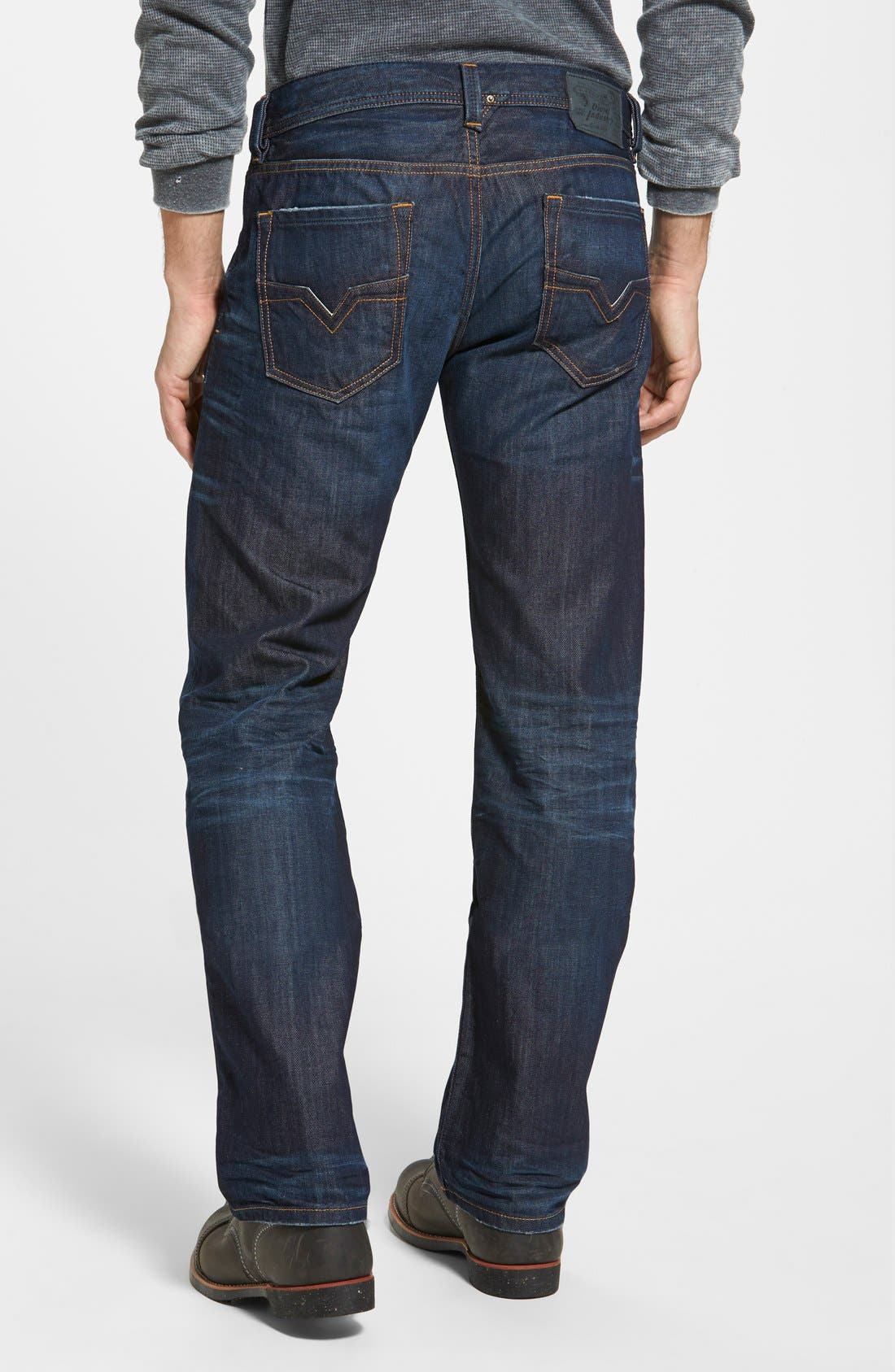 Larkee Straight Leg Jeans,                             Alternate thumbnail 2, color,                             0806W