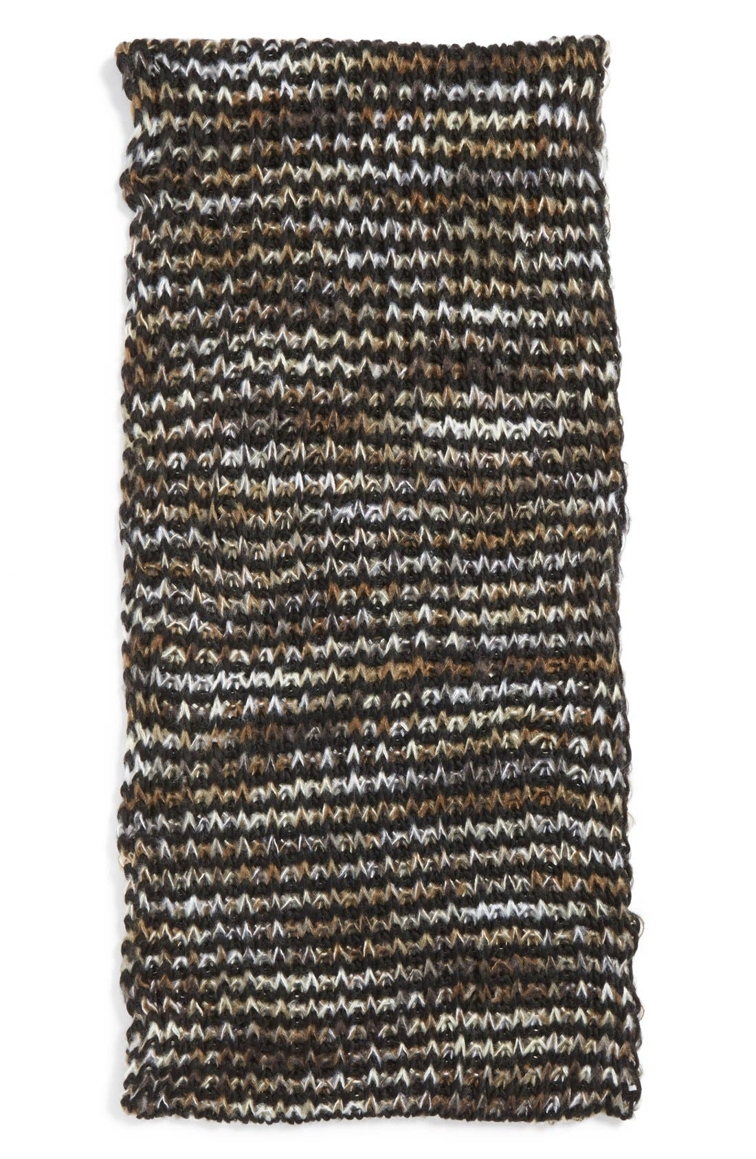 Alternate Image 2  - BP. Marled Chevron Knit Infinity Scarf (Juniors)