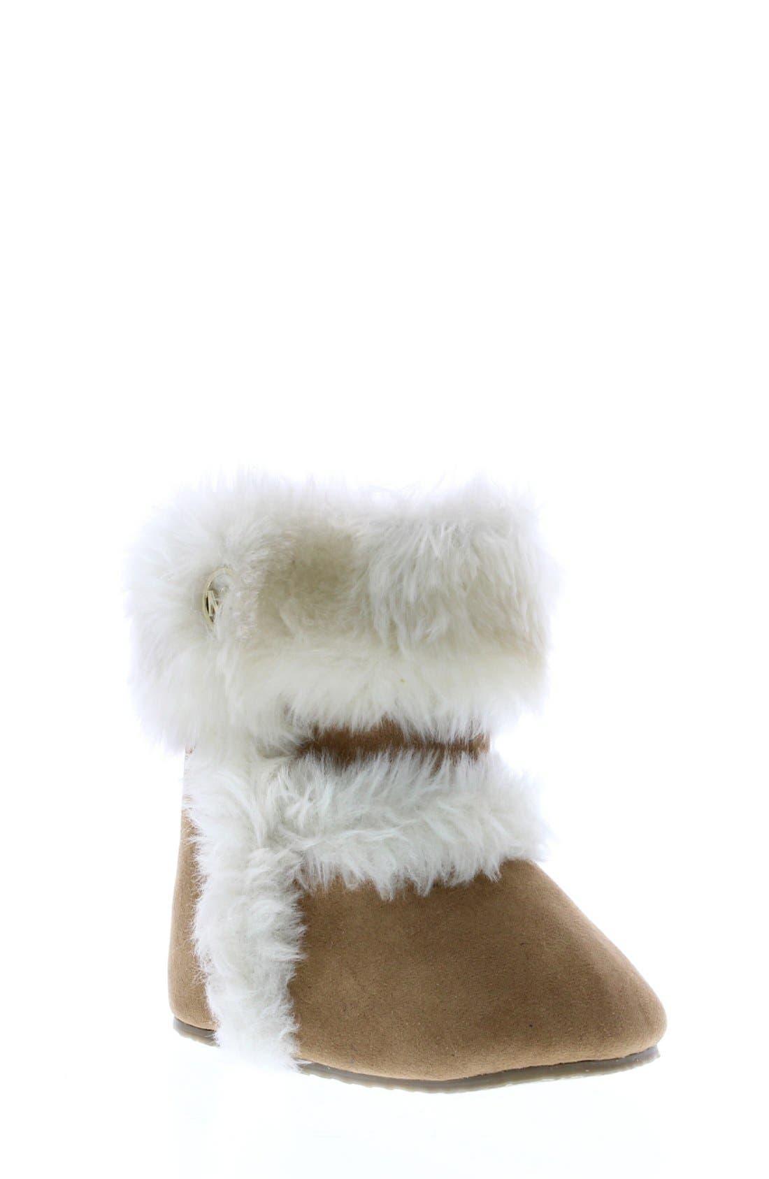 Main Image - MICHAEL Michael Kors 'Grace' Boot (Baby)