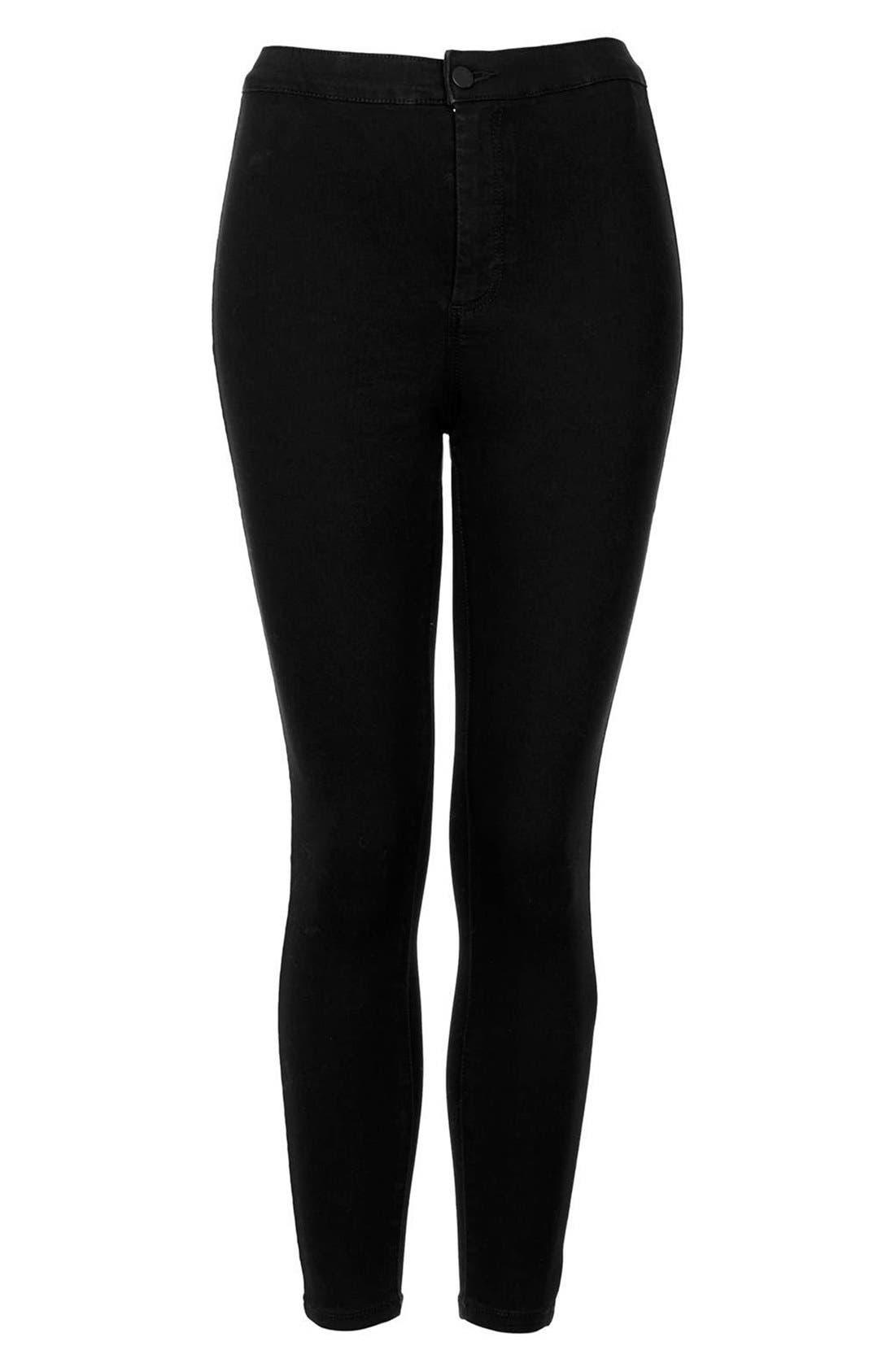 Alternate Image 3  - Topshop Moto 'Joni' High Rise Skinny Jeans (Regular & Petite)