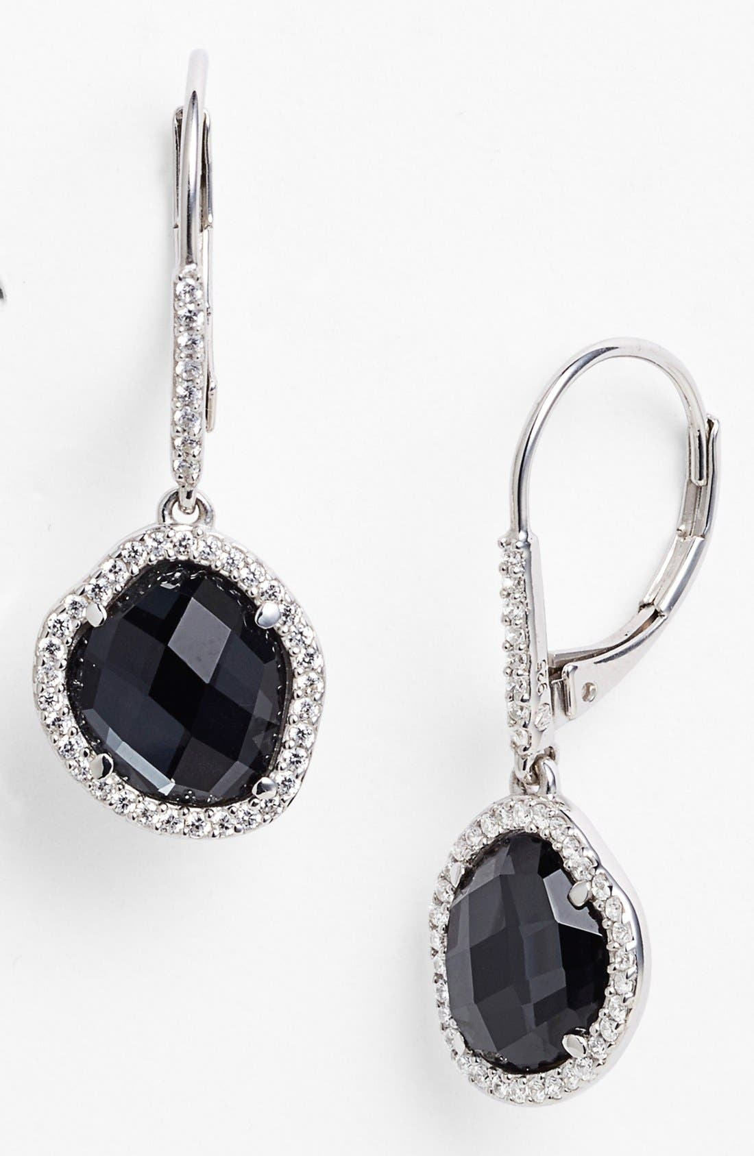Alternate Image 1 Selected - Nadri Boxed Pavé Drop Earrings