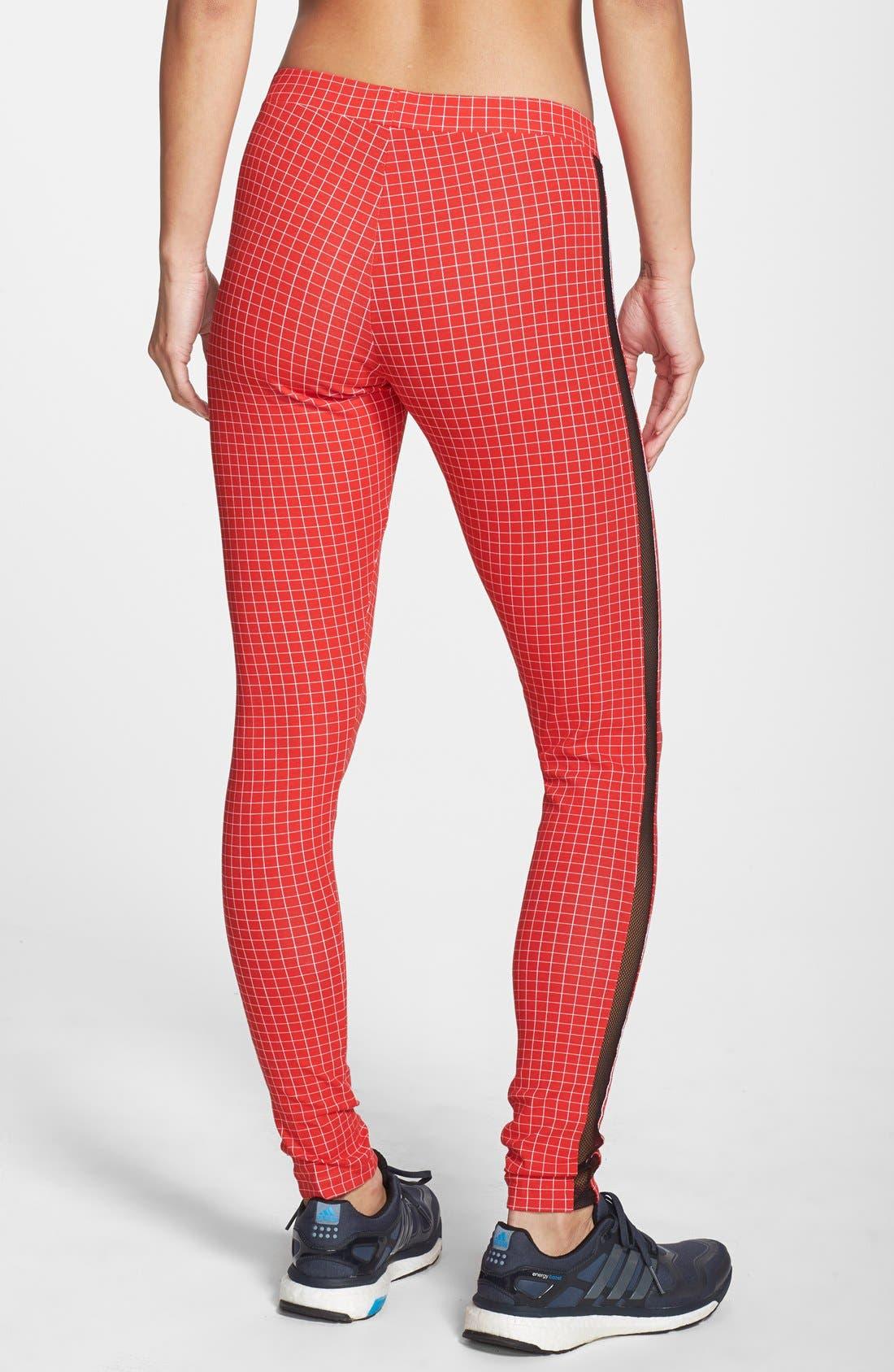 Alternate Image 2  - adidas 'Modern Tartan' Leggings