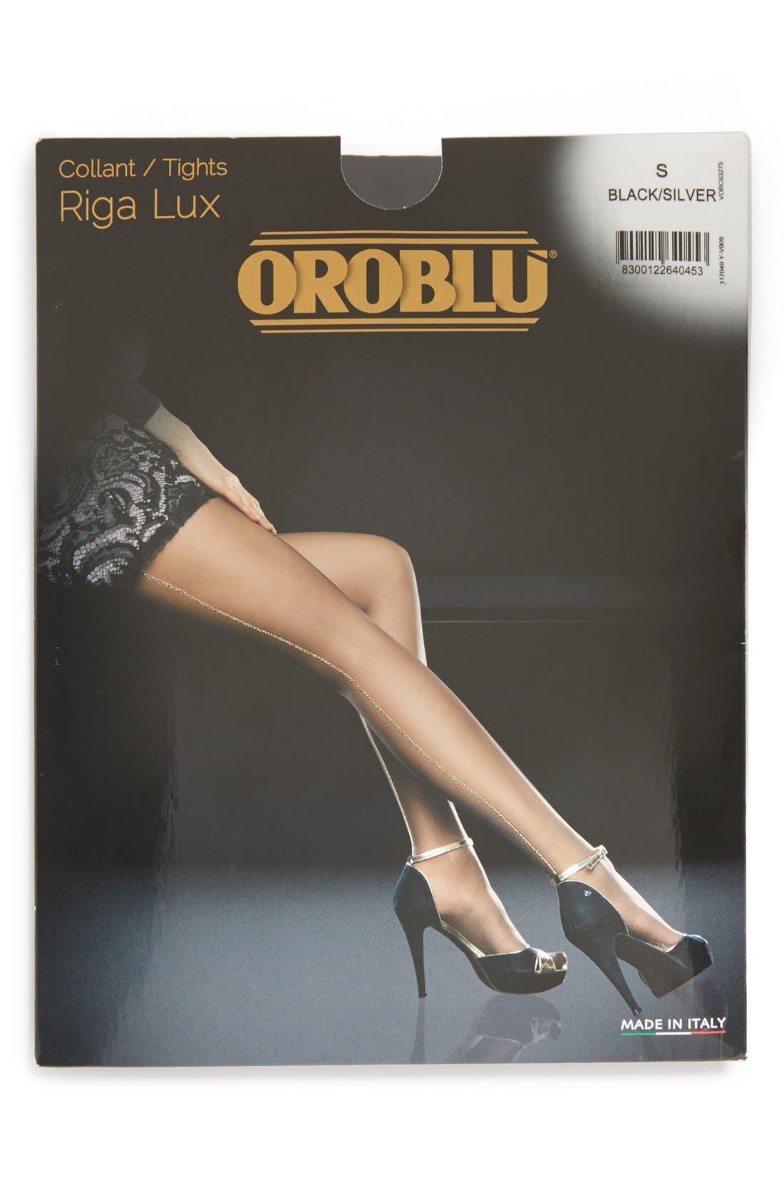 Alternate Image 4  - Oroblu 'Riga' Tights