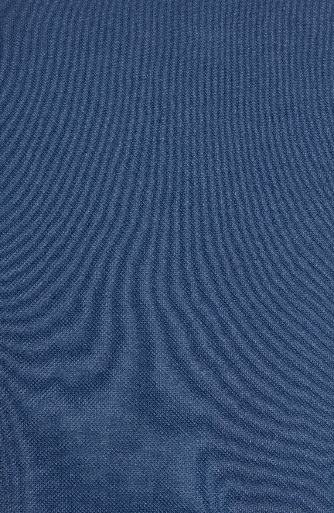 Alternate Image 3  - Lacoste Piqué Polo with Rubber Logo