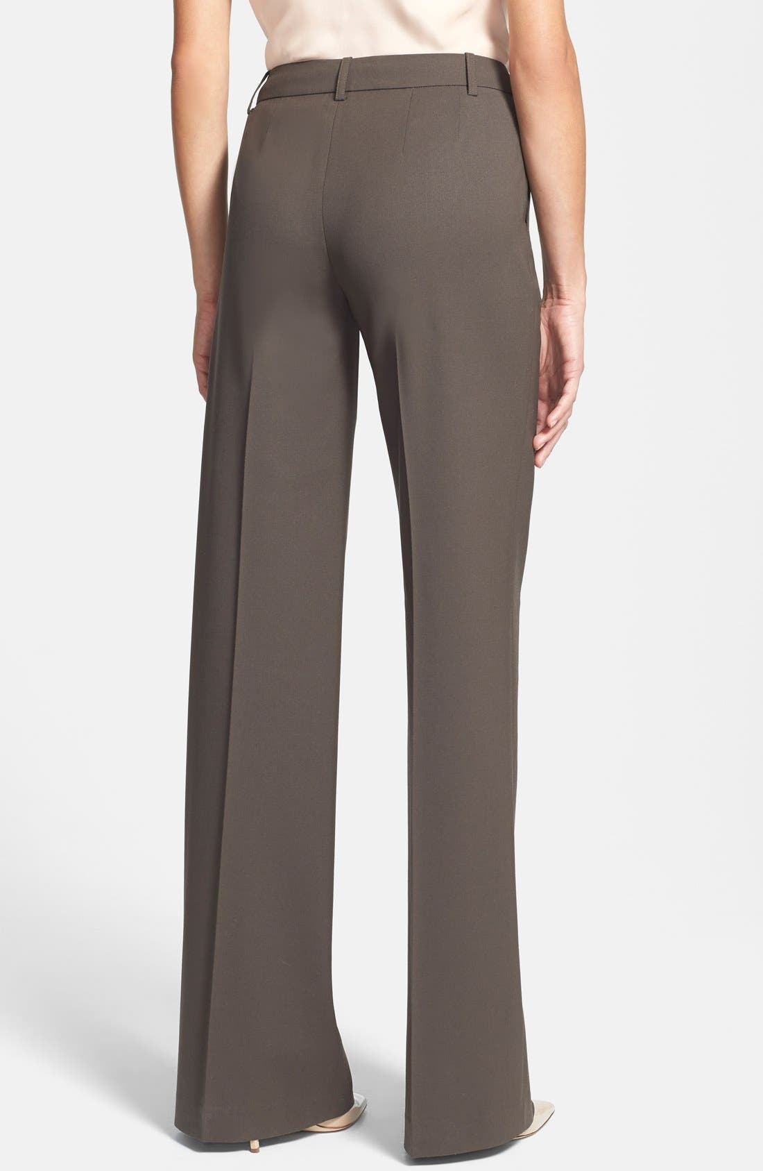 Alternate Image 2  - Lafayette 148 New York Stretch Wool Pants