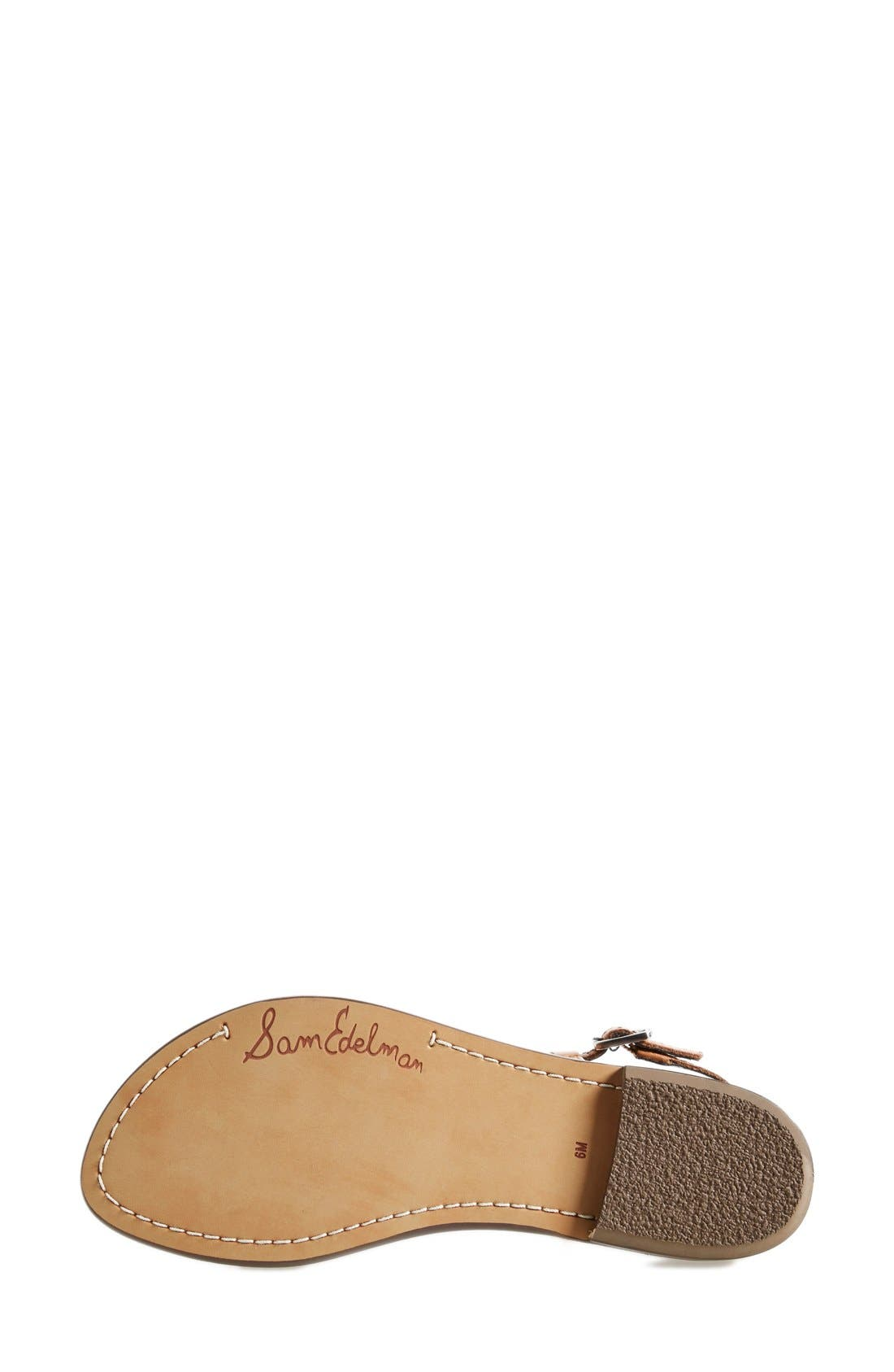 Alternate Image 4  - Sam Edelman 'Gigi' Leather Sandal (Women)