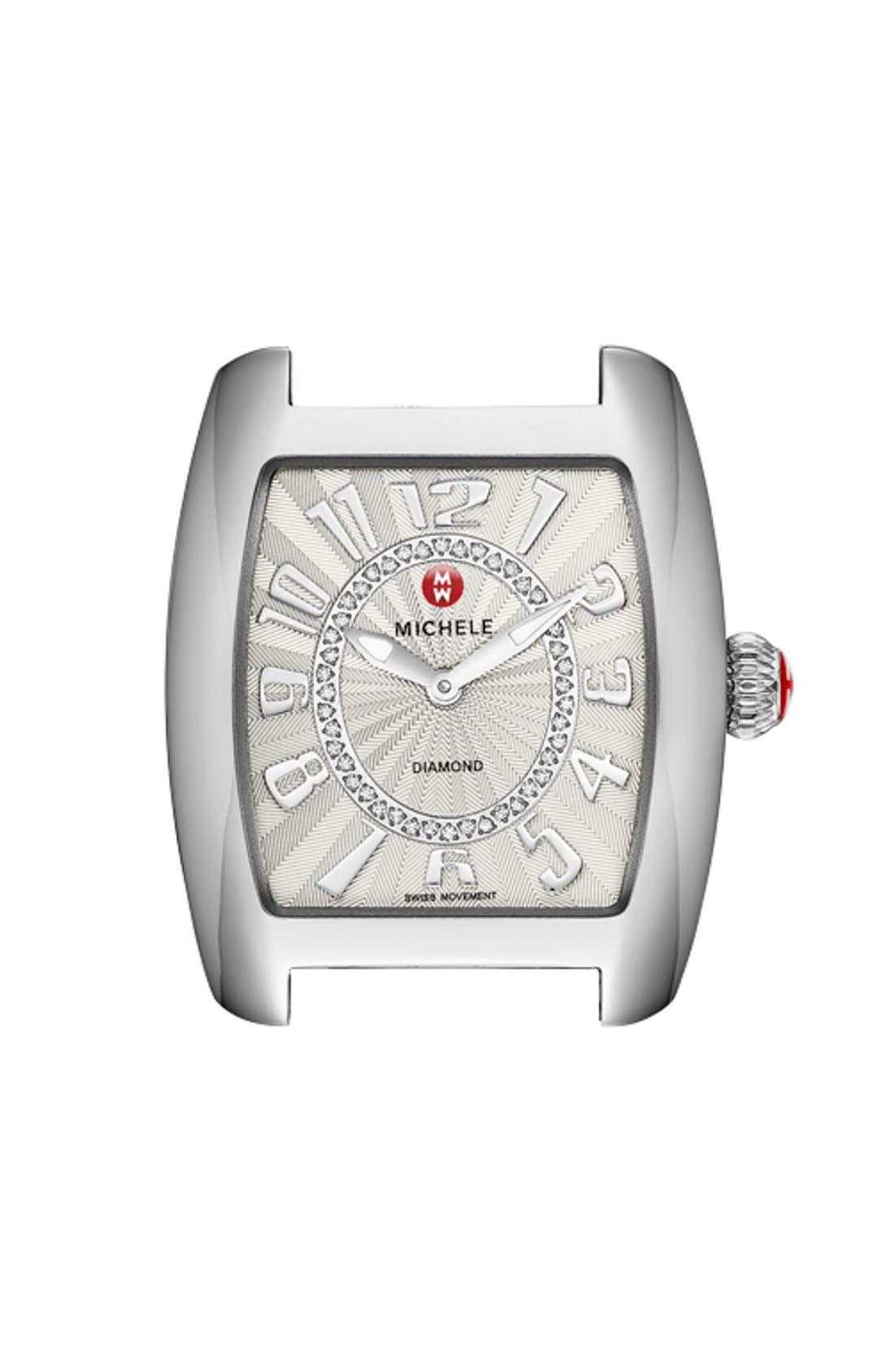 Alternate Image 1 Selected - MICHELE Urban Mini Diamond Dial Watch Case, 29mm x 30mm