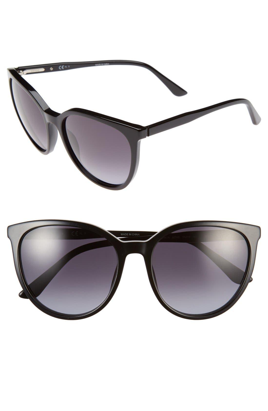 Main Image - Oxydo 56mm Retro Sunglasses