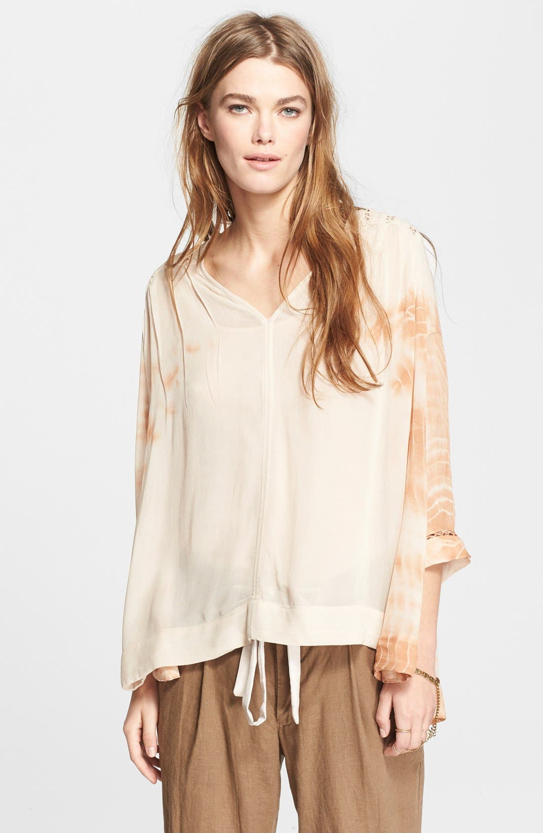 Alternate Image 1 Selected - Free People 'Tie Dye Me Down' Top