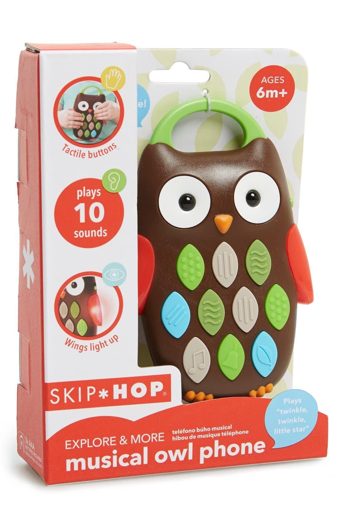 Alternate Image 2  - Skip Hop Musical Owl Phone